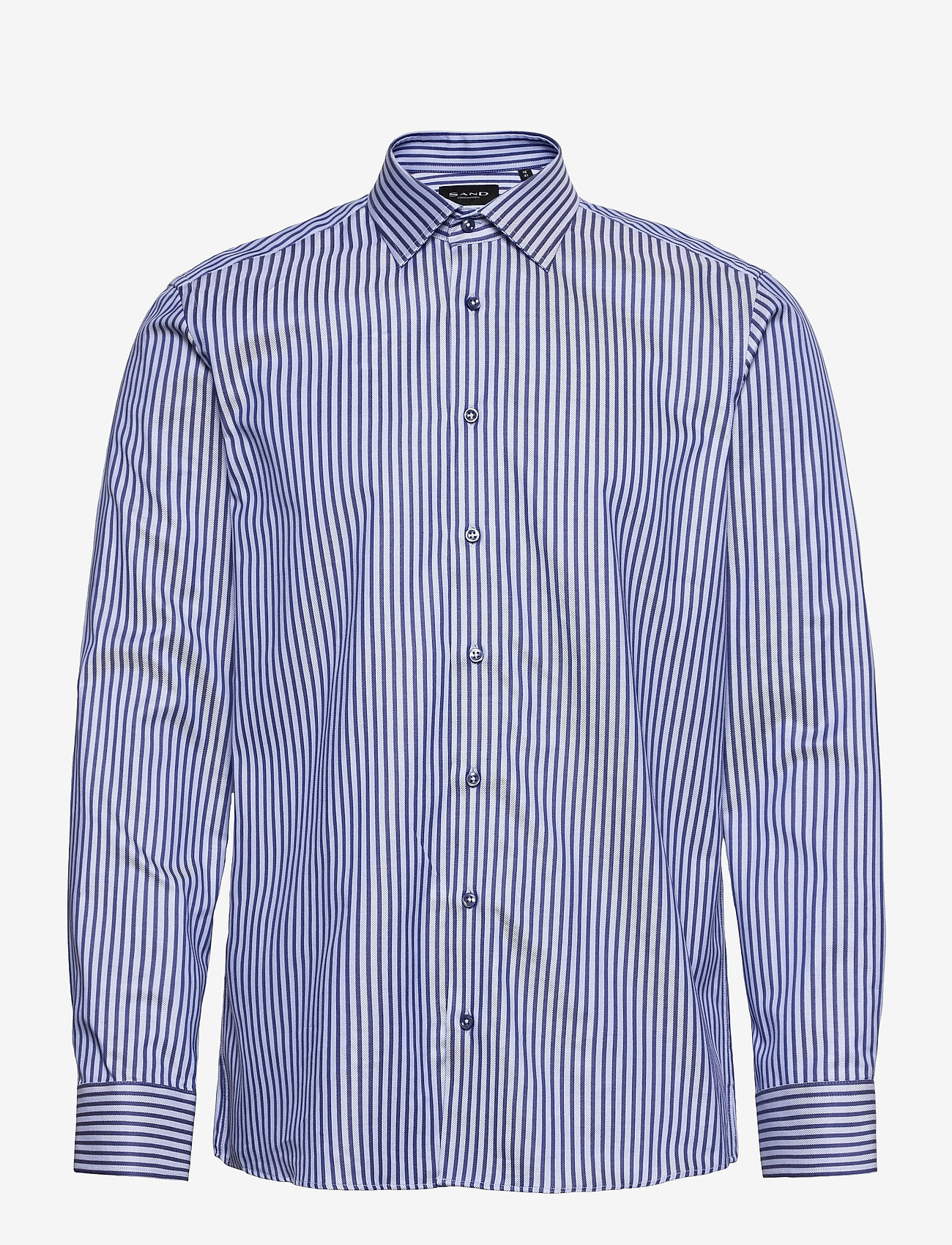 SAND - 8651 - State N 2 - oxford-skjortor - medium blue - 0