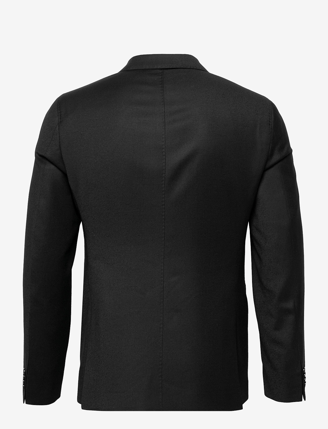 SAND - Cashmere Flannel - Star DB Normal - single breasted blazers - black - 1