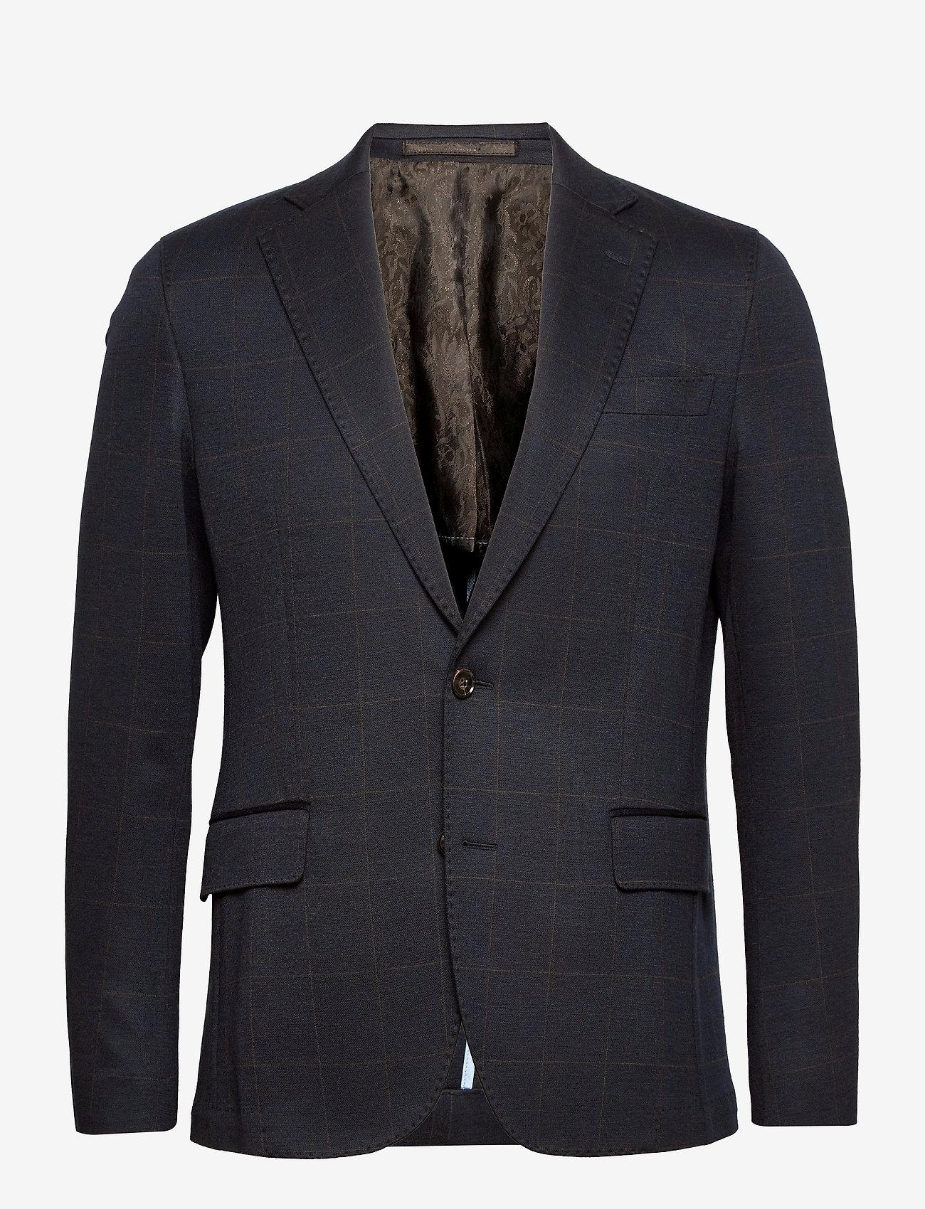 SAND - 1696 - Jones Napoli 1/2 Normal - single breasted blazers - medium blue - 0