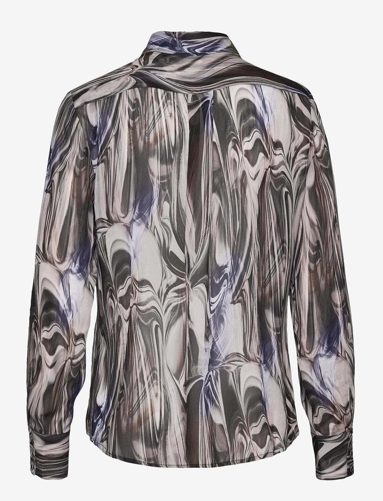 SAND - 3389 - Lotte BC - overhemden met lange mouwen - blue - 1