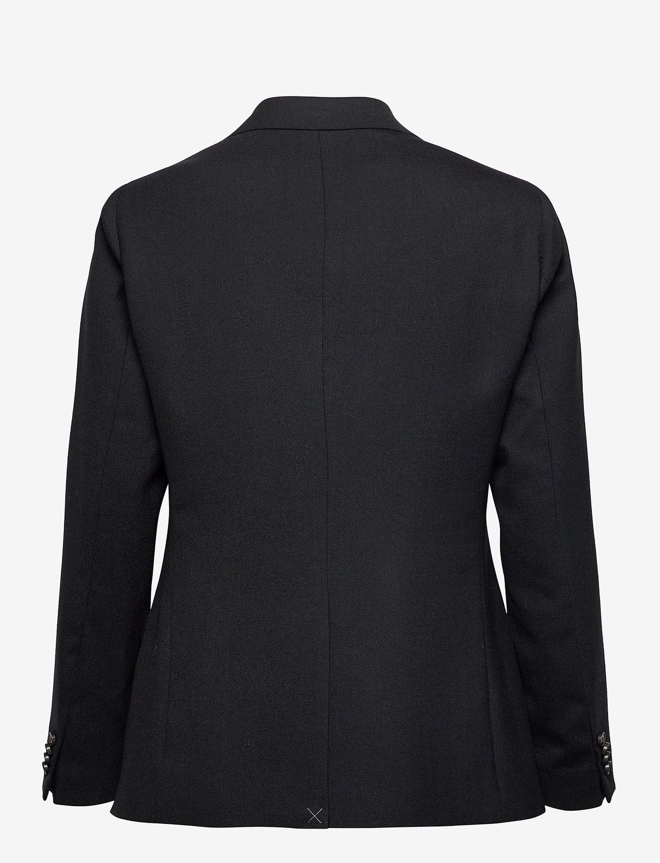 SAND - 2558 - Rani DB - getailleerde blazers - black - 1