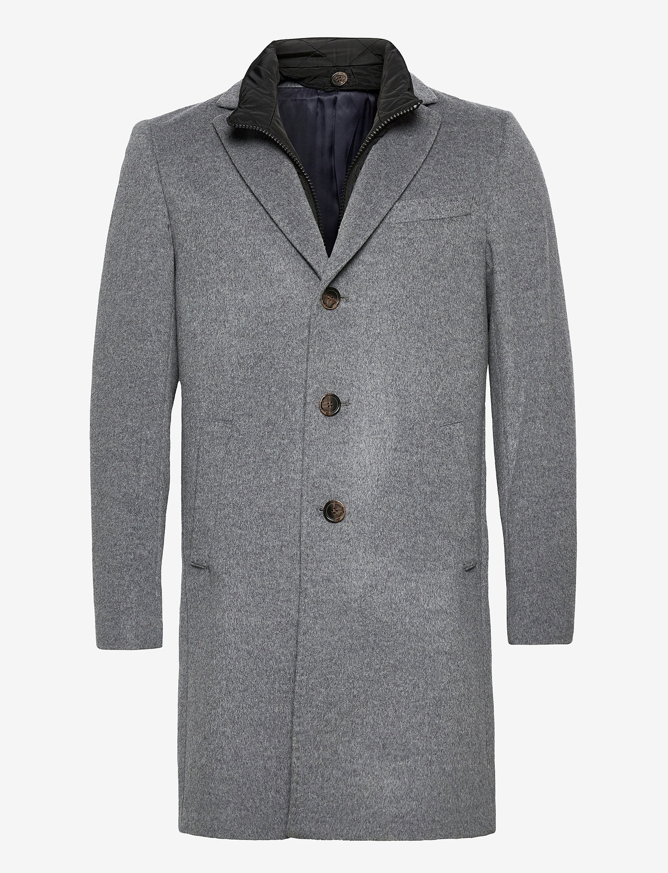 SAND - Cashmere Coat - Sultan Tech - villakangastakit - medium grey - 0