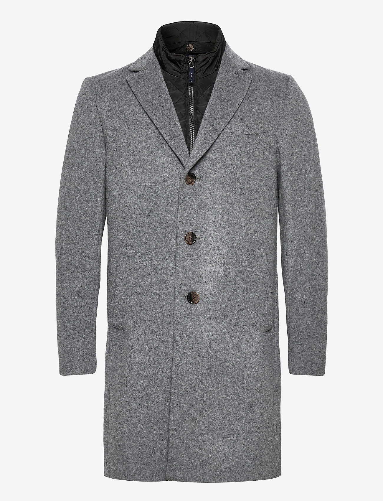 SAND - Cashmere Coat - Sultan Tech - villakangastakit - medium grey - 1