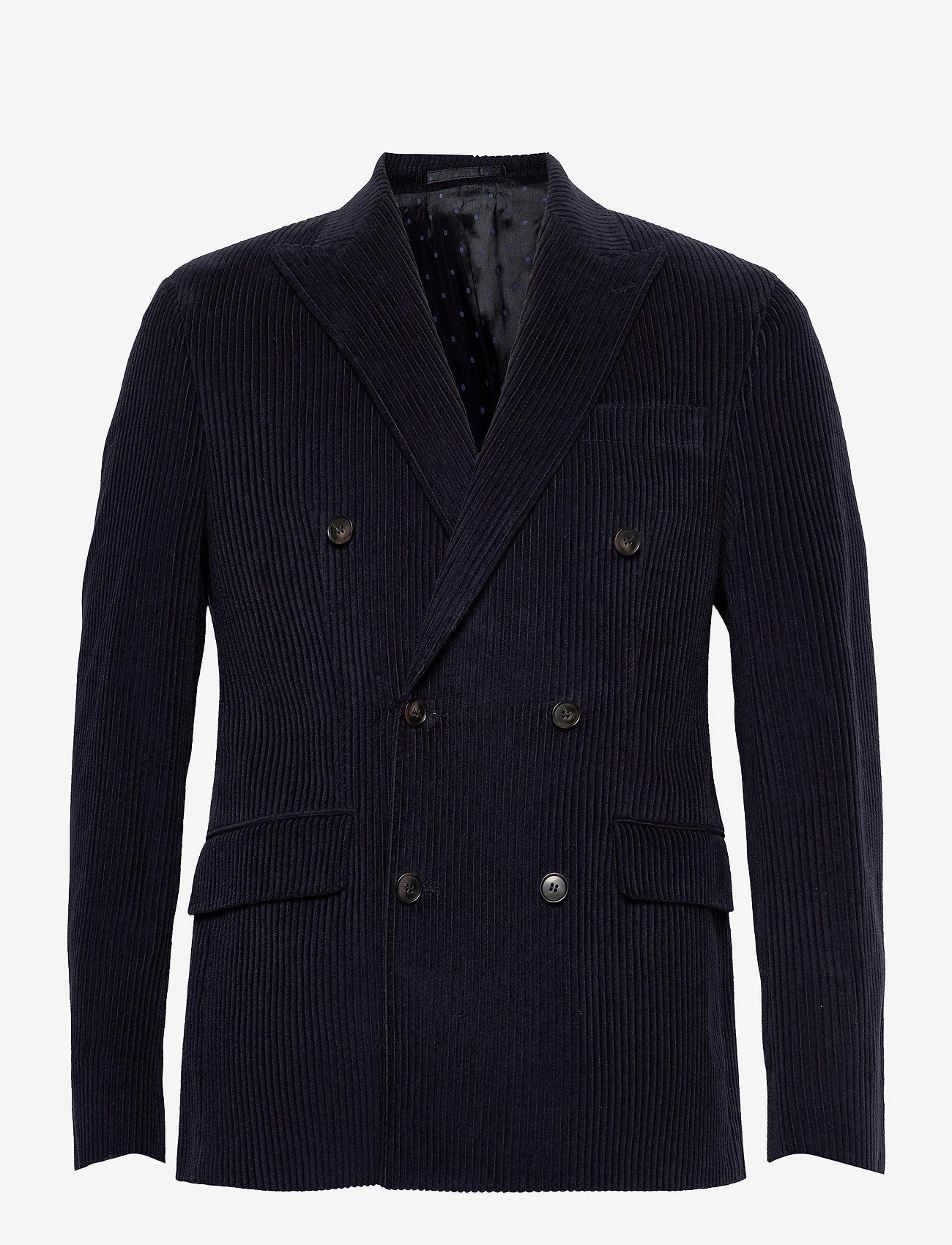 SAND - 1663 - Star DB Normal - single breasted blazers - dark blue/navy - 0