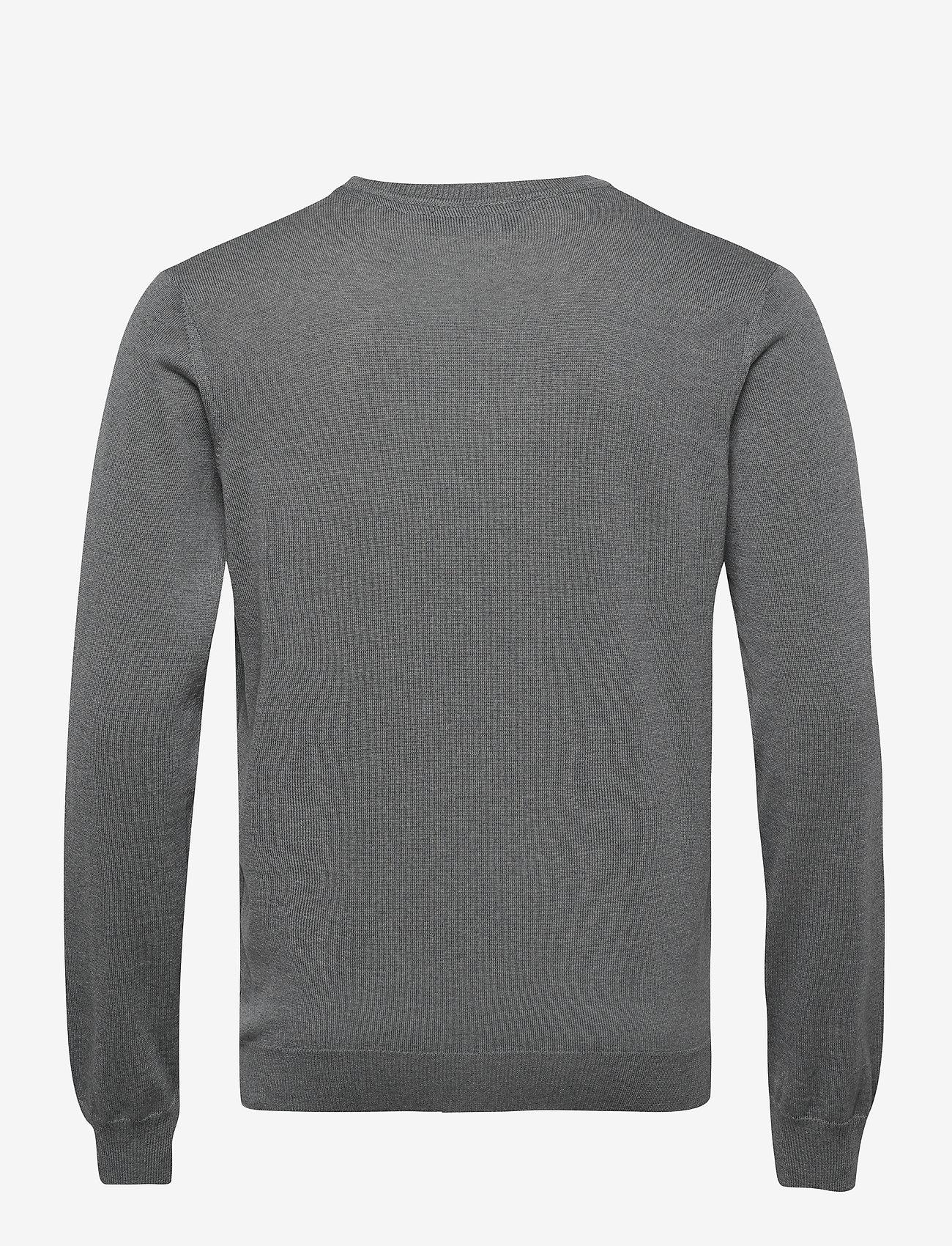 SAND Merino Embroidery - Iv - Strikkevarer GREY - Menn Klær