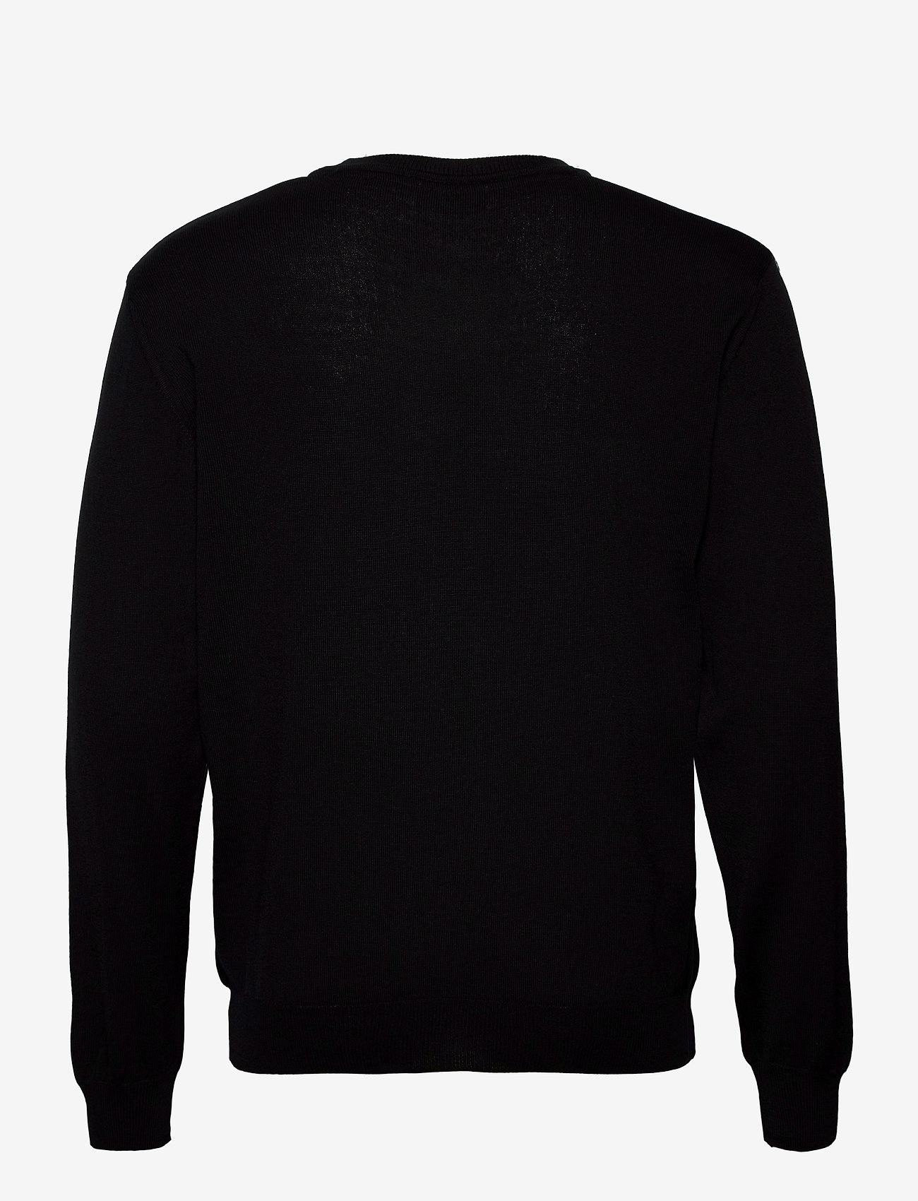 SAND - Merino Embroidery - Iq - basic strik - black - 1