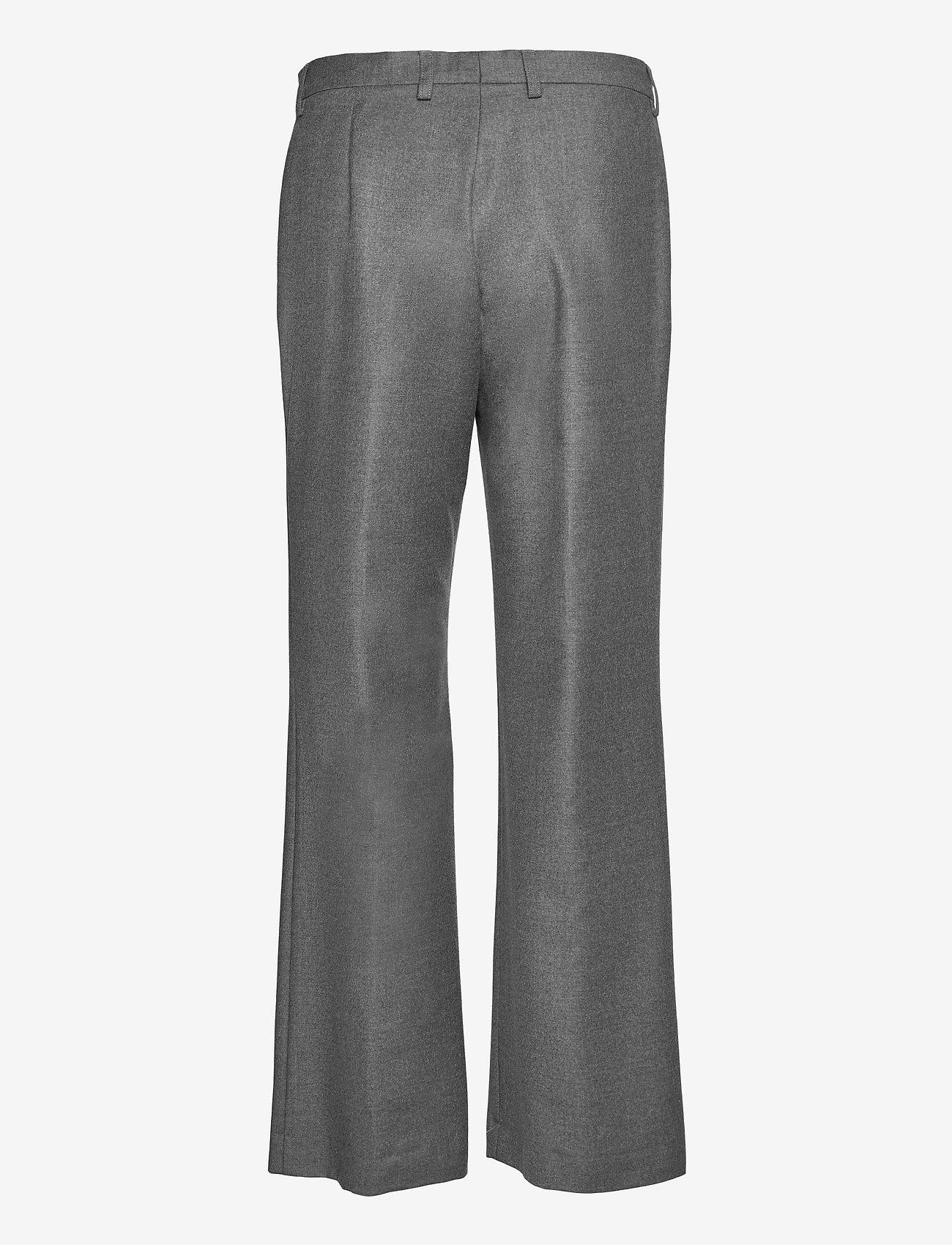 SAND - 1698 - Sasha Tailored - uitlopende broeken - grey - 1
