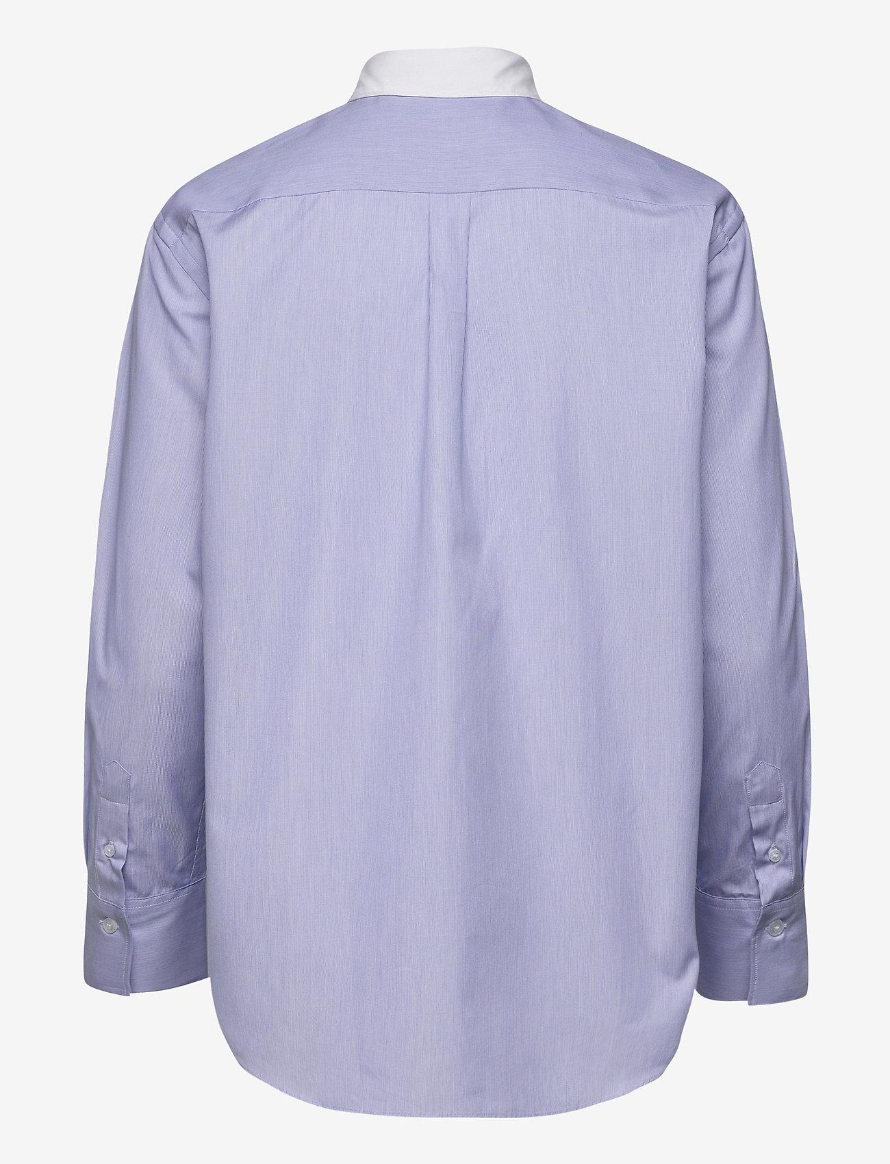 SAND - 8753 - Nube C - långärmade skjortor - blue - 1
