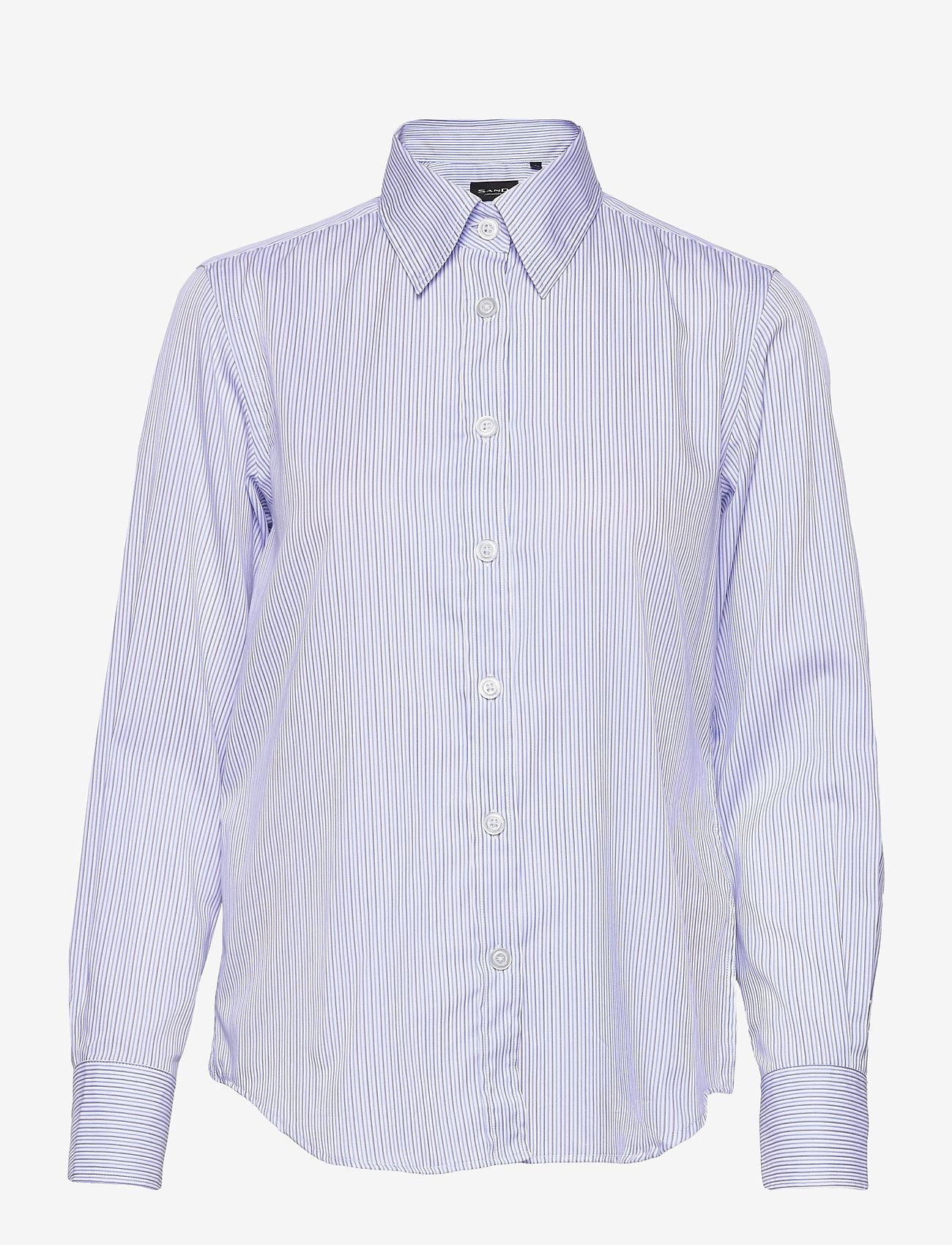 SAND - 8748 - Sandie New - chemises à manches longues - blue - 0
