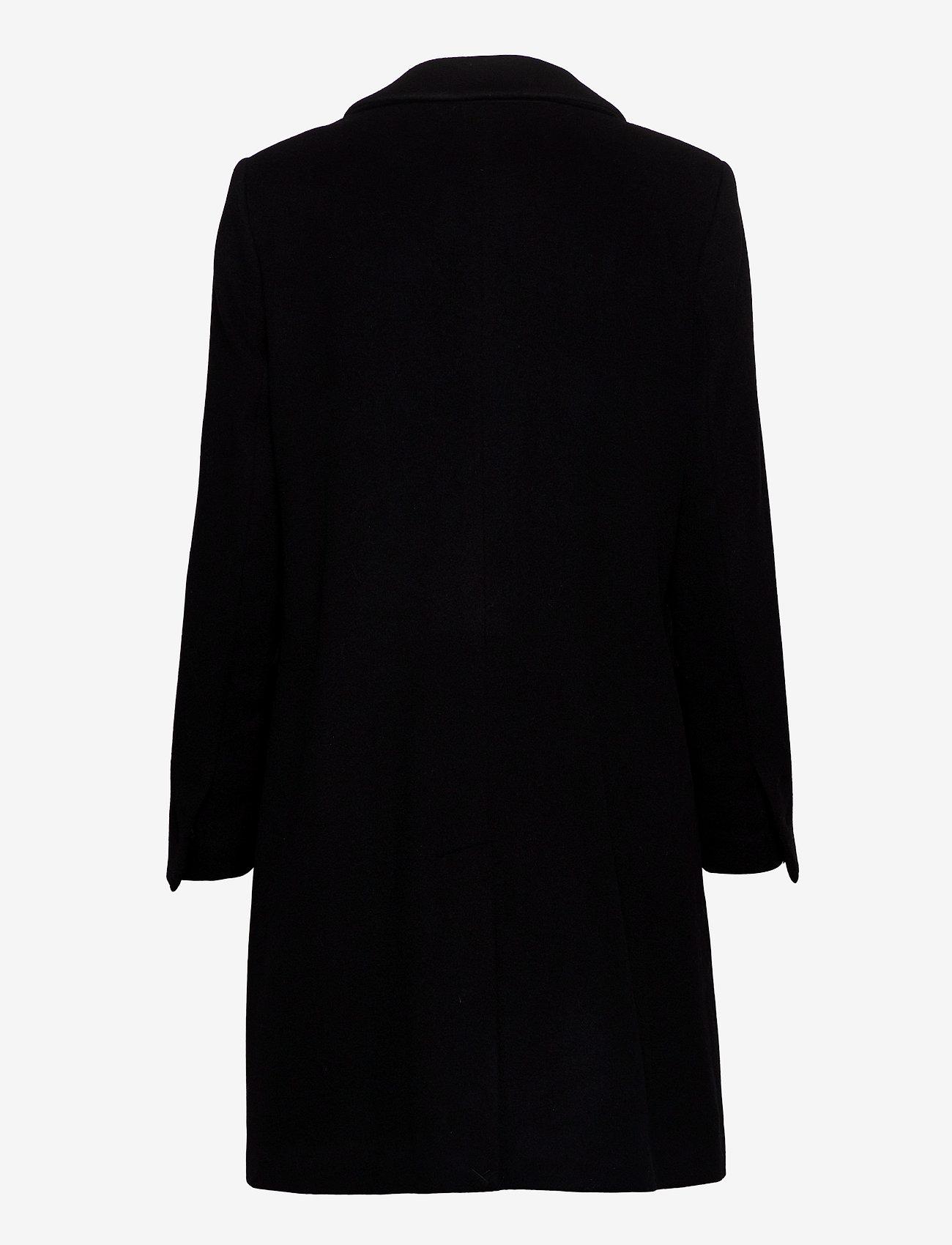 SAND - Cashmere Coat W - Britni 2 - black - 1