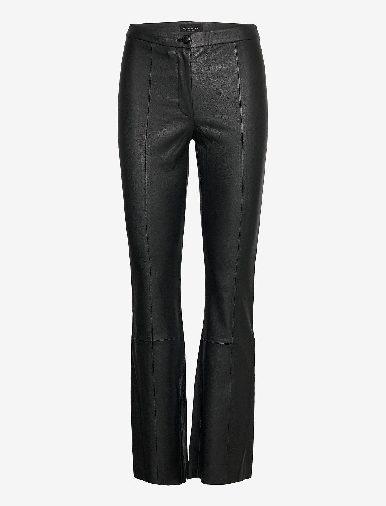 SAND - Stretch Leather - Tennie - nahka - black - 0