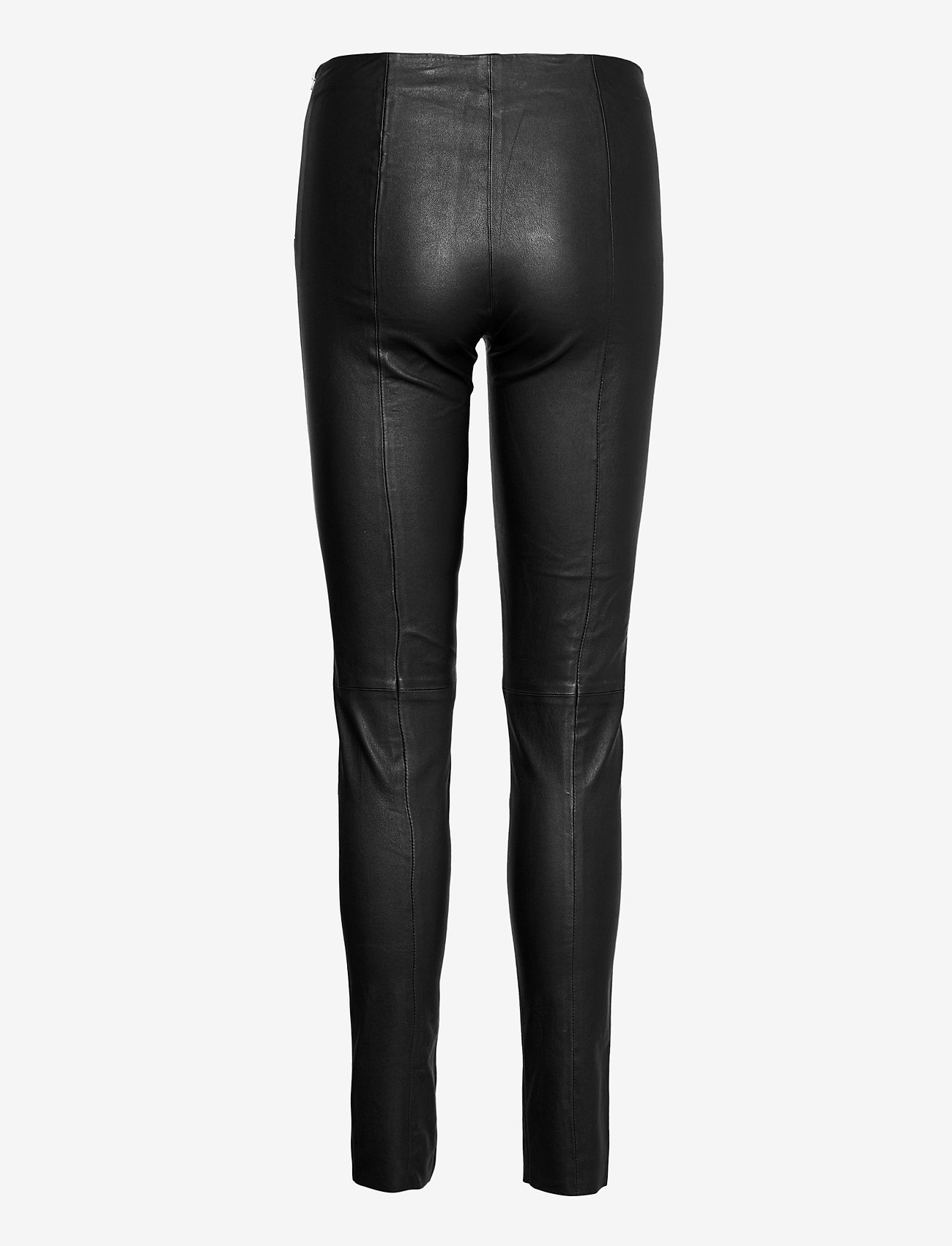 SAND - Stretch Leather - Shamar - pantalons en cuir - black - 1