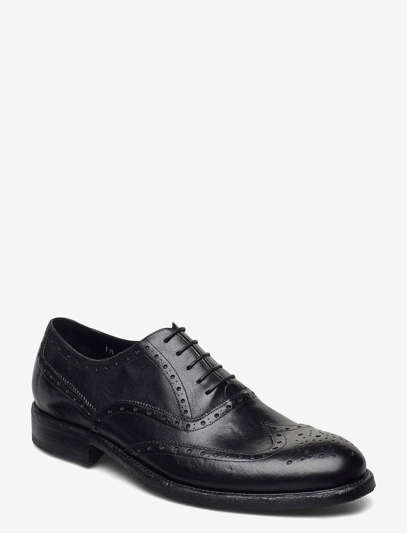 SAND - Footwear MW - F316 - snörskor - black - 0