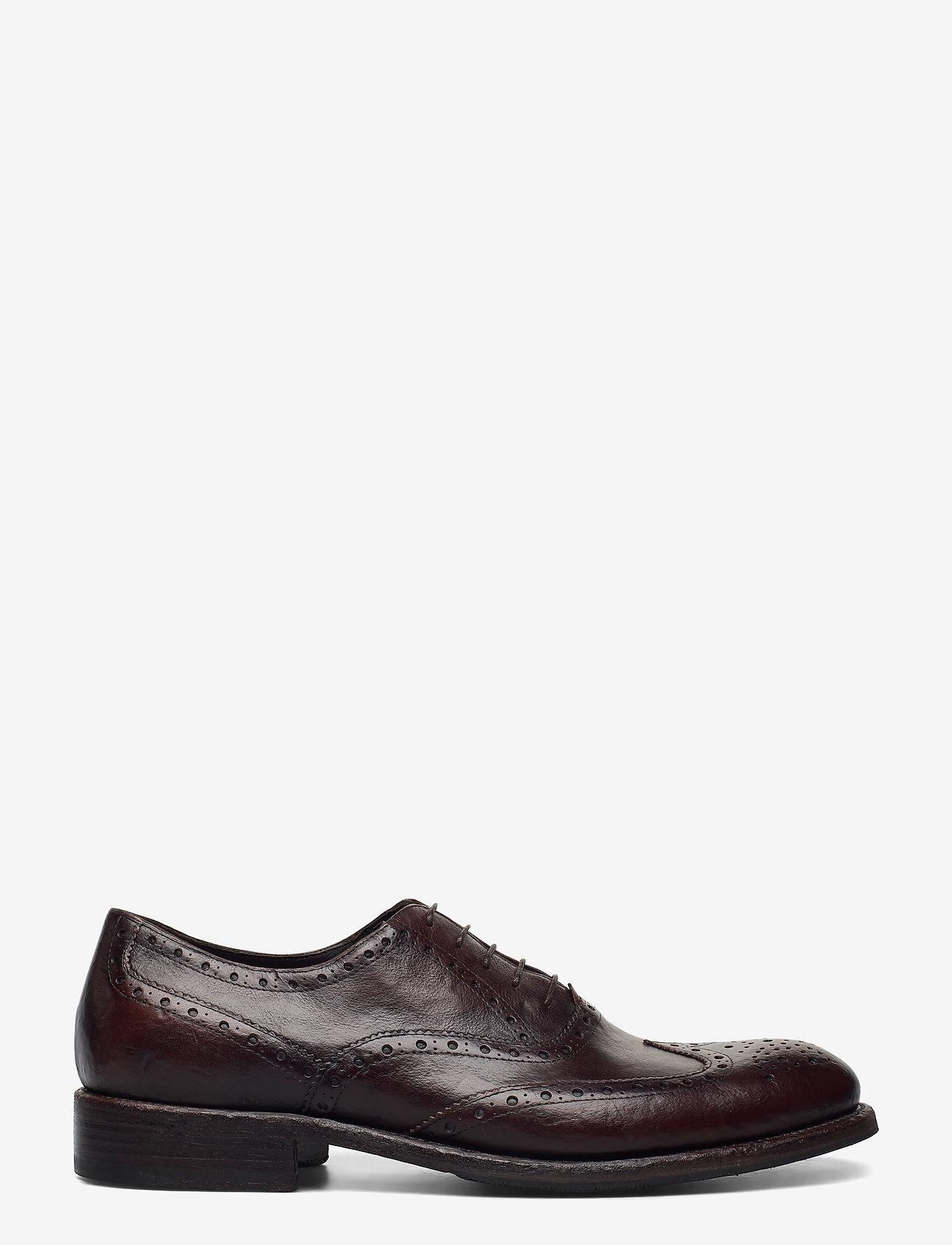 SAND - Footwear MW - F316 - nauhakengät - dark brown - 1