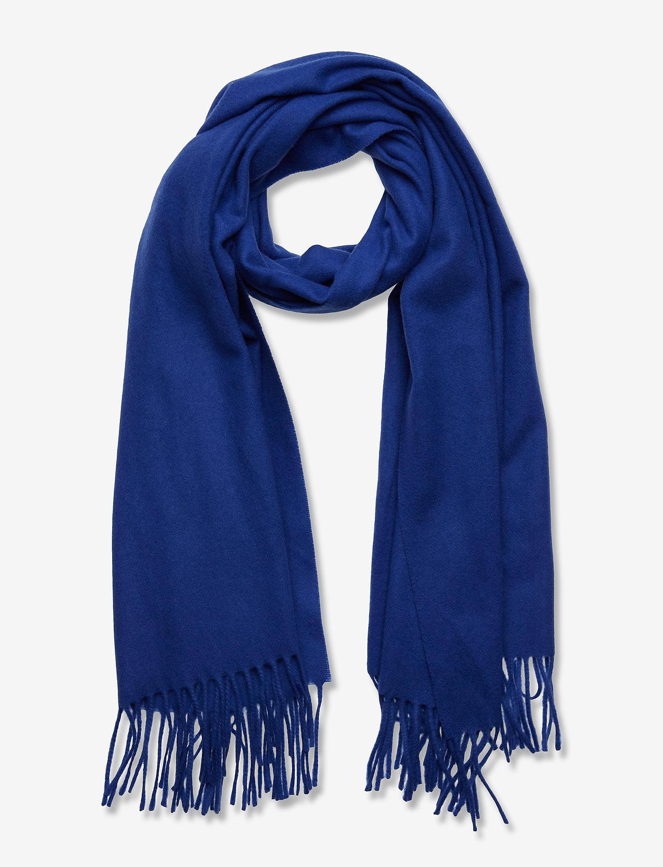 SAND - Scarf - tørklæder - medium blue - 0