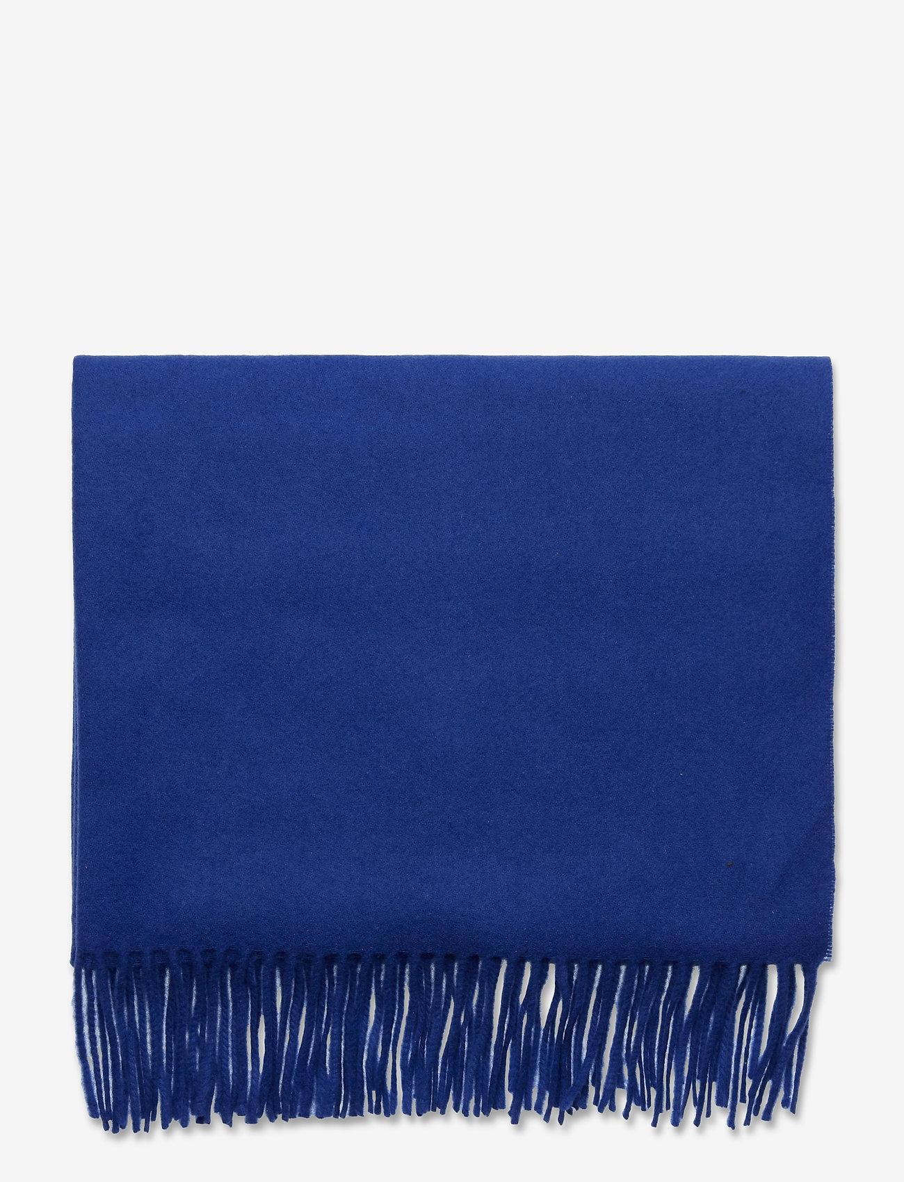 SAND - Scarf - tørklæder - medium blue - 1