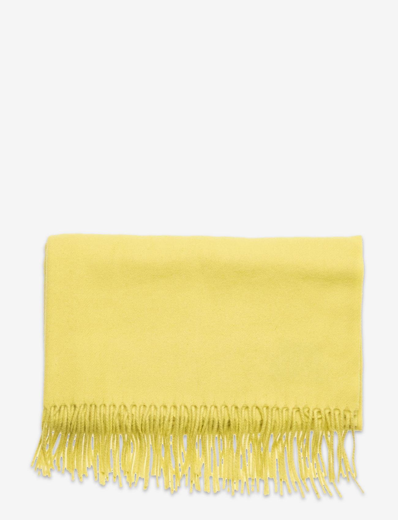 SAND - Scarf - tørklæder - pale yellow - 1