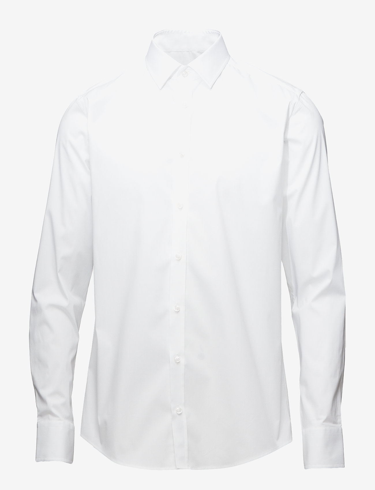 SAND - Poplin Stretch - Iver - business shirts - optical white - 0