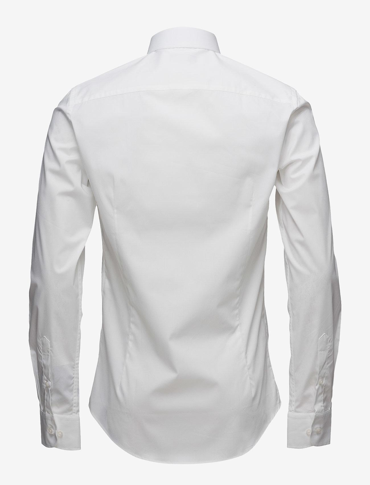 SAND - Poplin Stretch - Iver - business skjortor - optical white - 1
