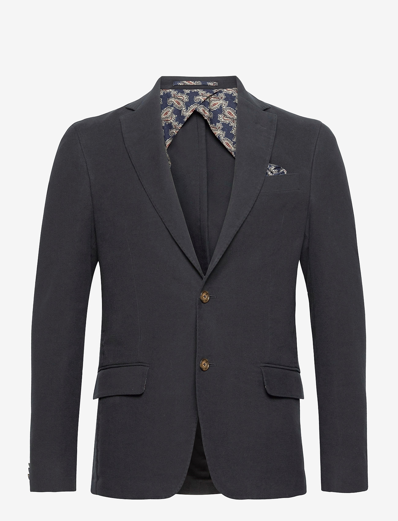 SAND - Molskin - Star Easy EP Normal - blazers met enkele rij knopen - dark blue/navy - 0