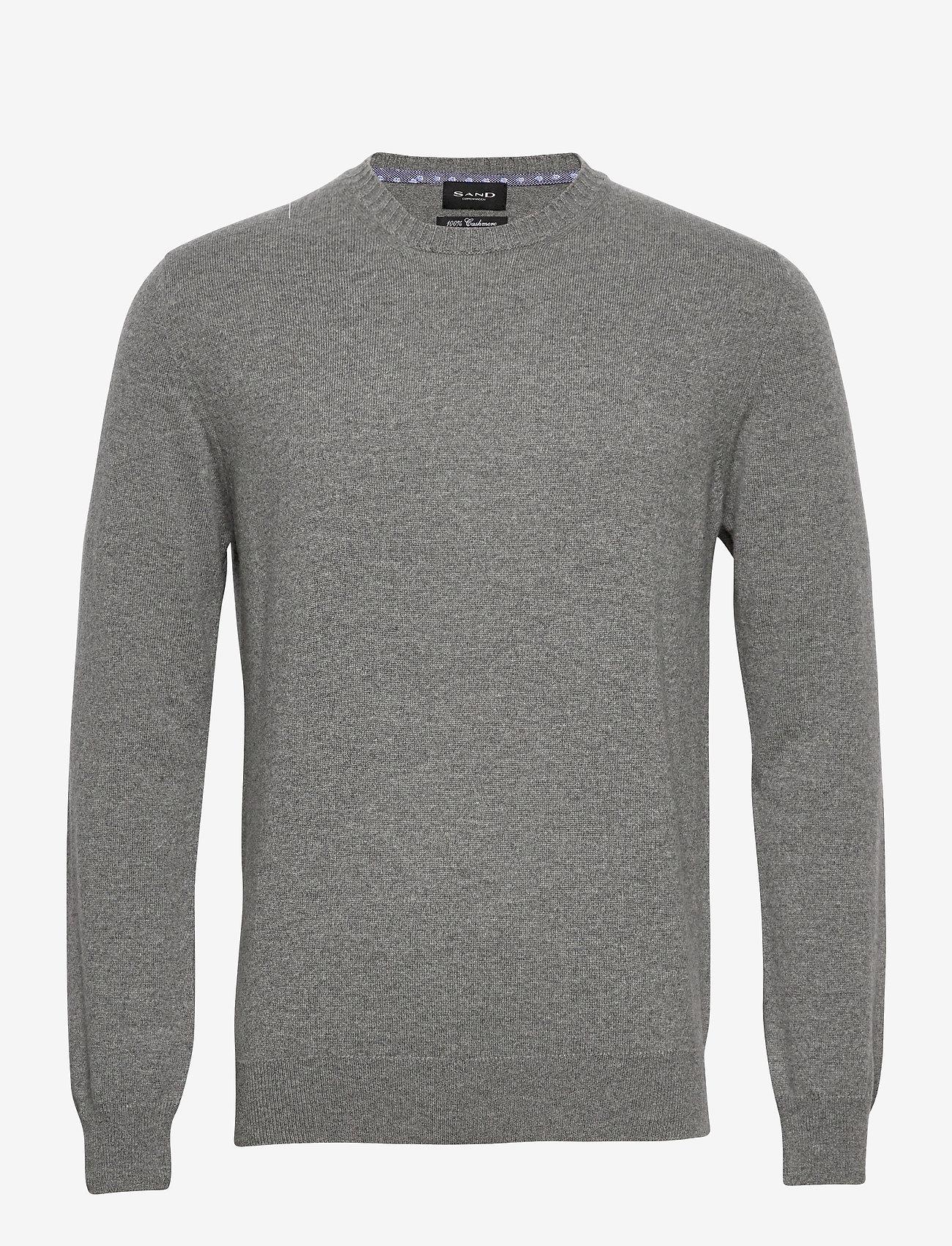 SAND - Cashmere - Iq - stickade basplagg - grey - 0