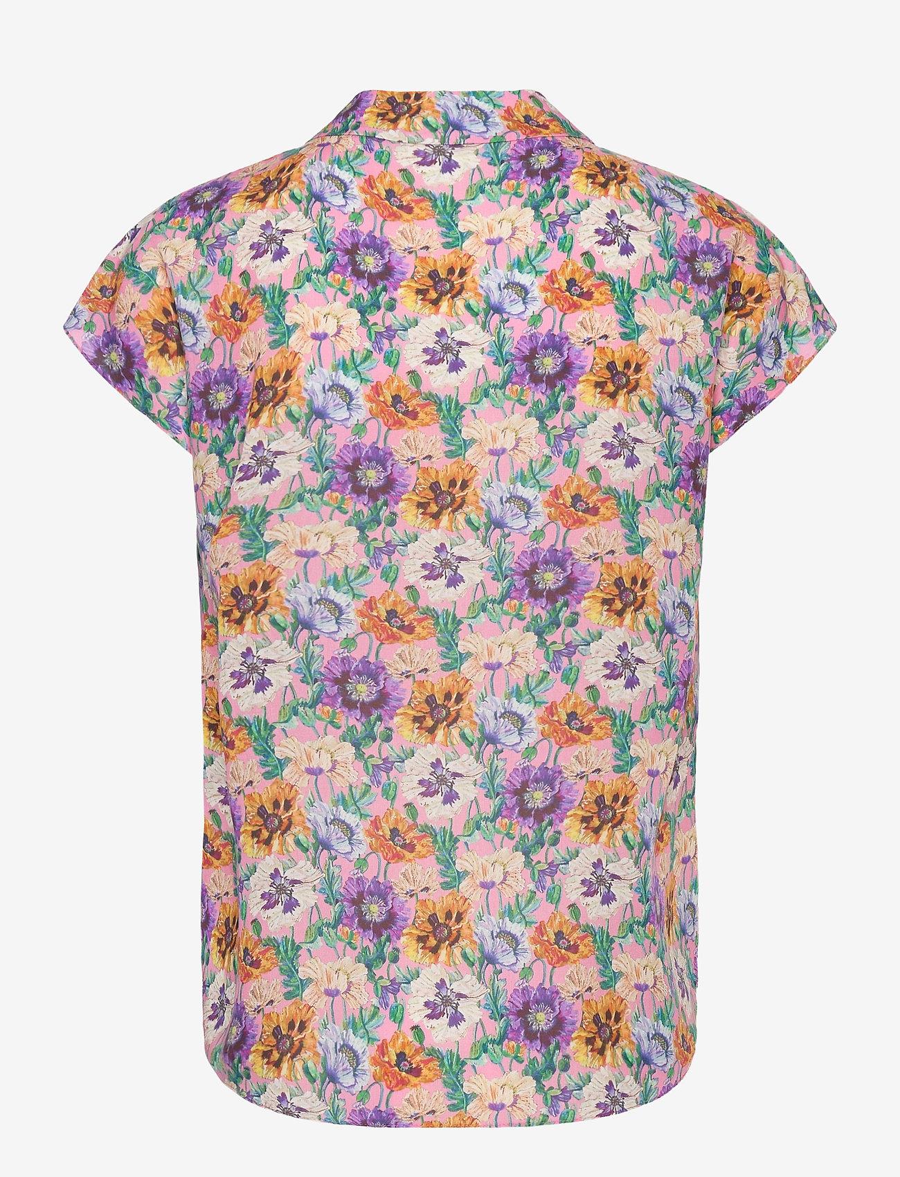 SAND - 3419 - Prosi Top S - blouses met korte mouwen - pink - 1