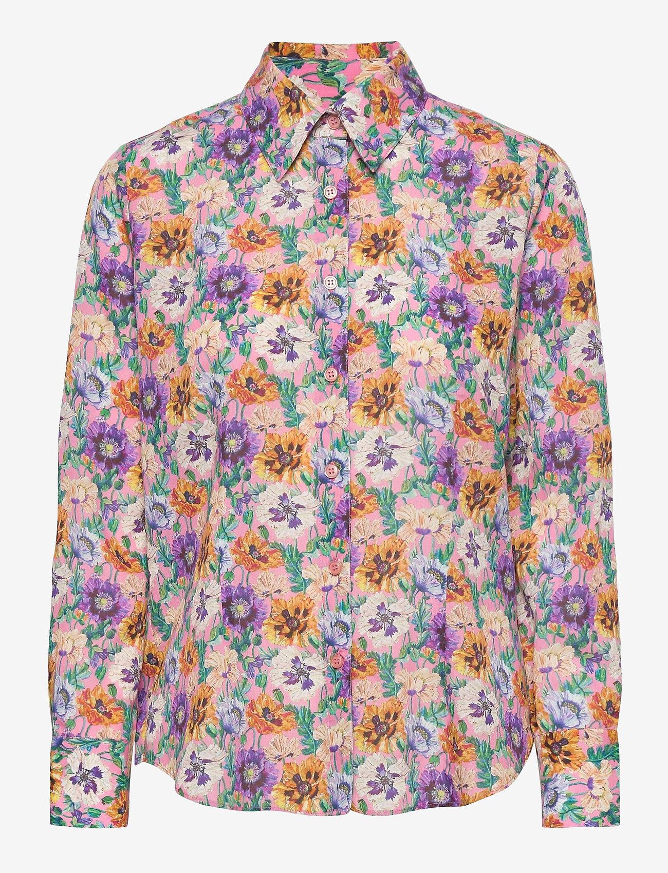 SAND - 3419 - Lotte BC - overhemden met lange mouwen - pink - 0