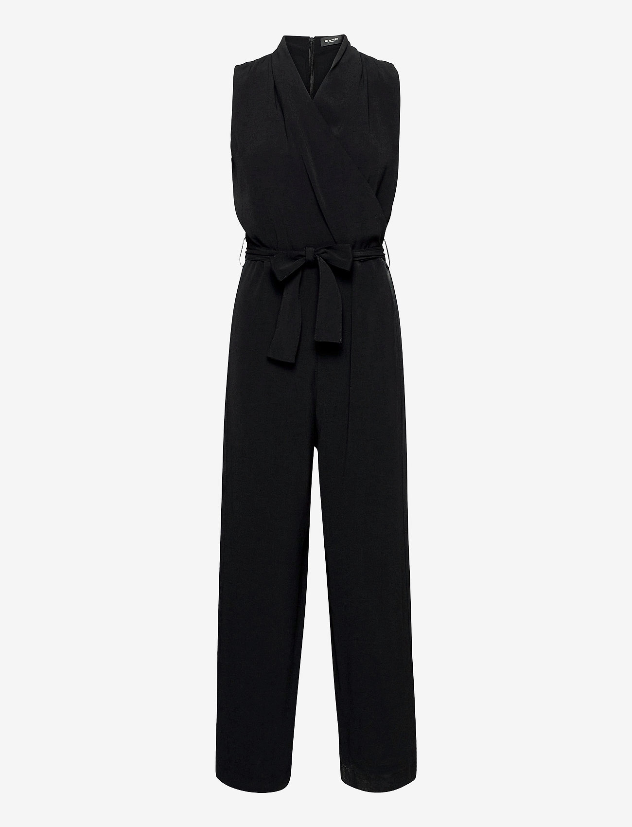 SAND - Crepe Satin Back - Whitney NT - jumpsuits - black - 0