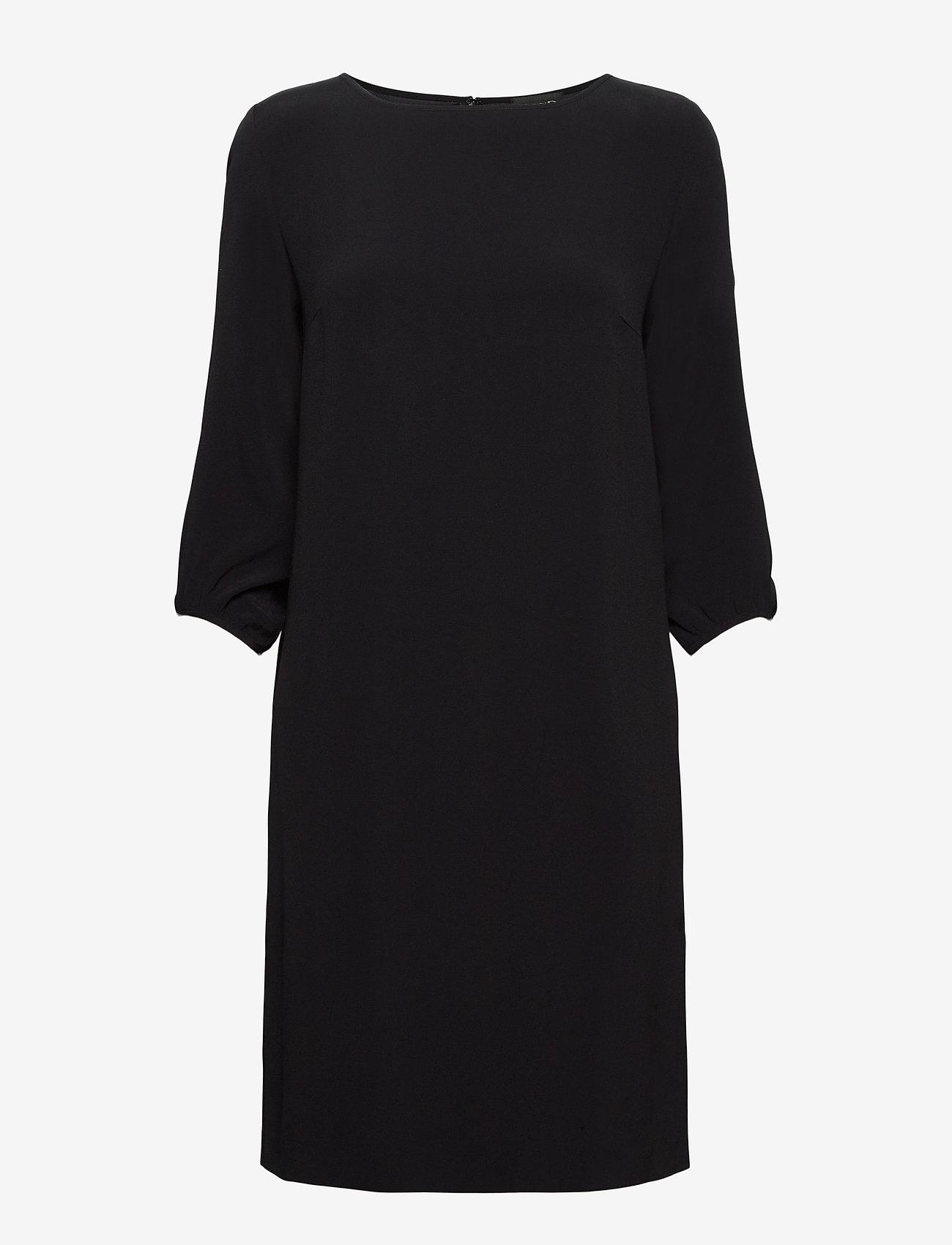 SAND - Crepe Satin Back - Ellie - robes de jour - black - 0