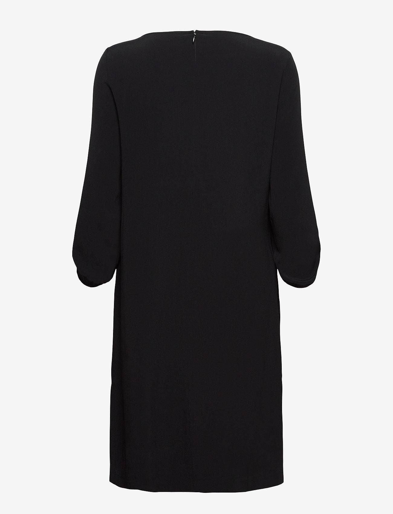 SAND - Crepe Satin Back - Ellie - robes de jour - black - 1