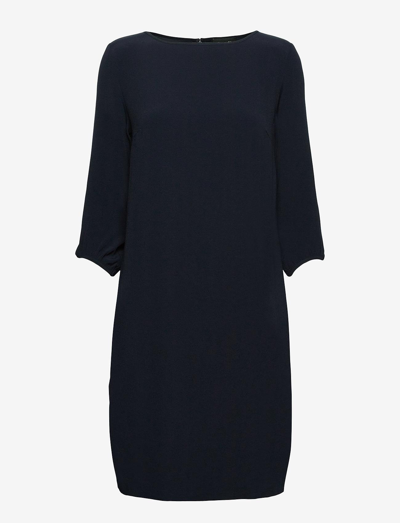 SAND - Crepe Satin Back - Ellie - robes de jour - medium blue - 0