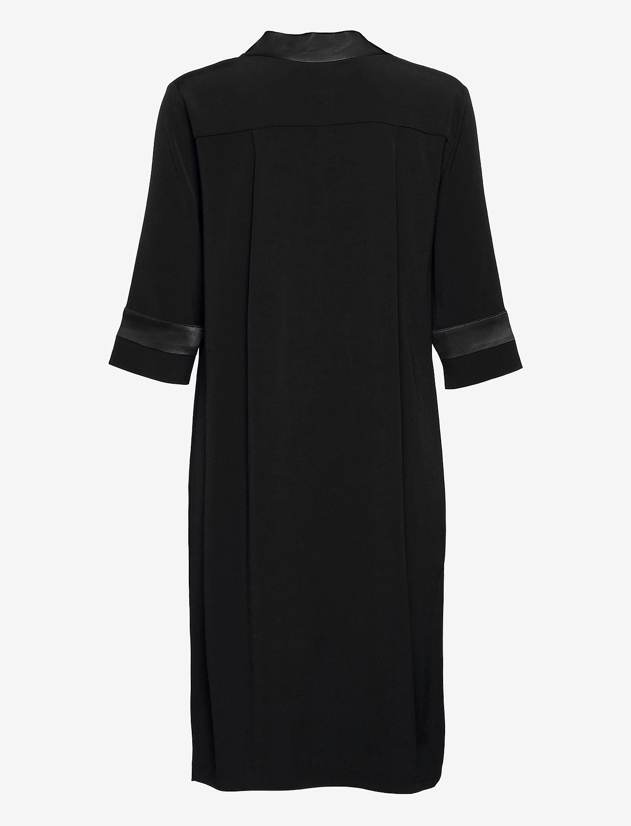 SAND - Crepe Satin Back - Ambar - robes de jour - black - 1