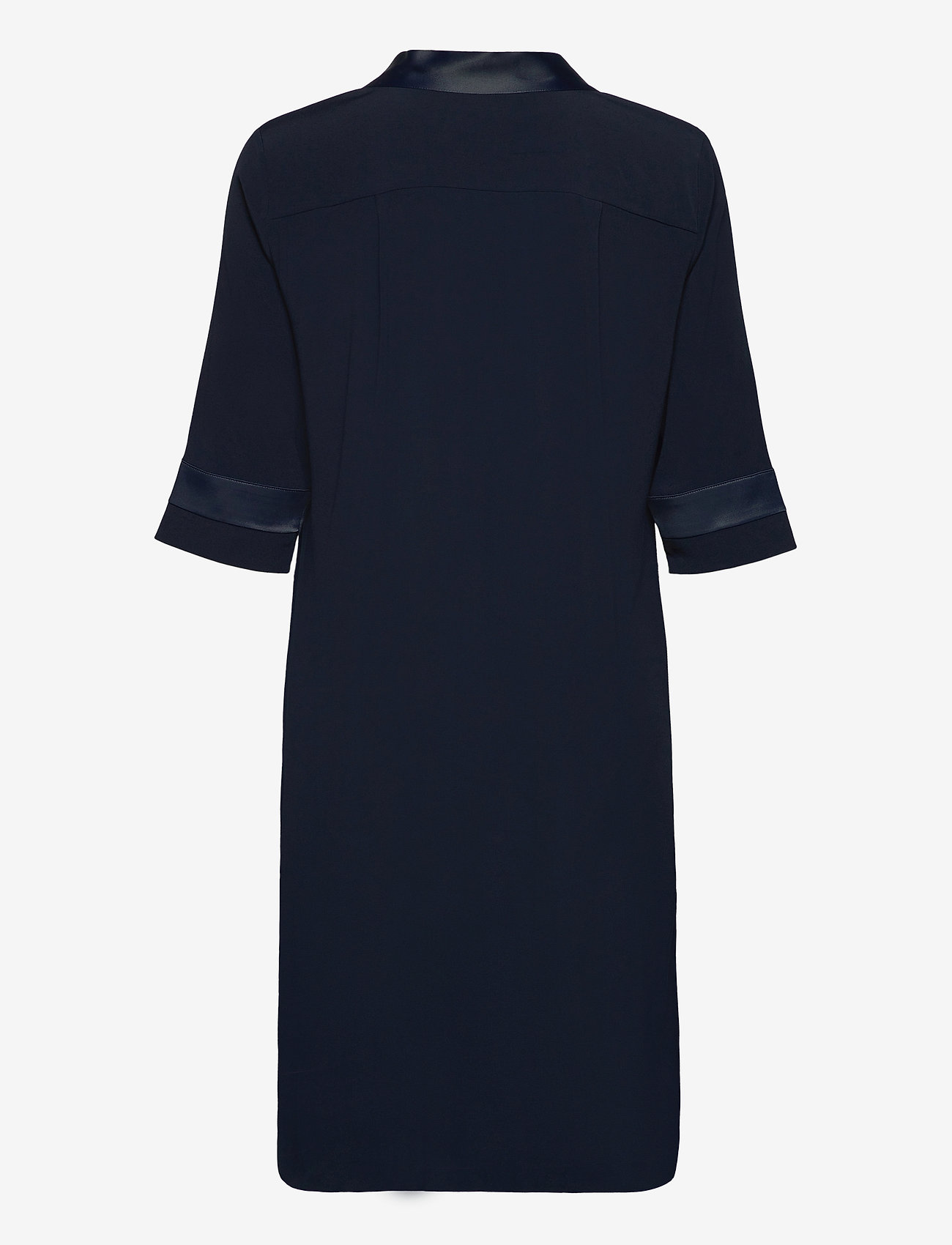 SAND - Crepe Satin Back - Ambar - robes de jour - medium blue - 1