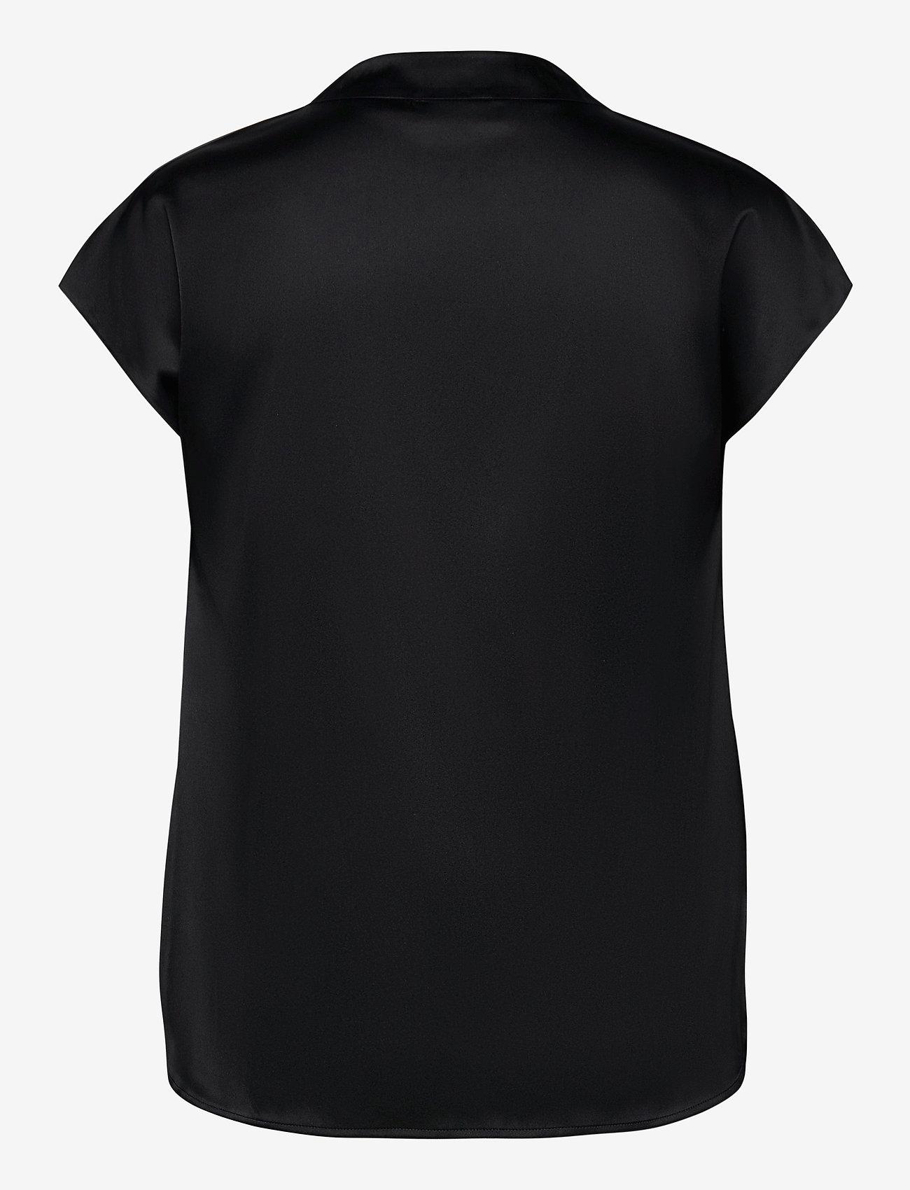 SAND - 3176 - Prosi Top S - blouses à manches courtes - black - 1