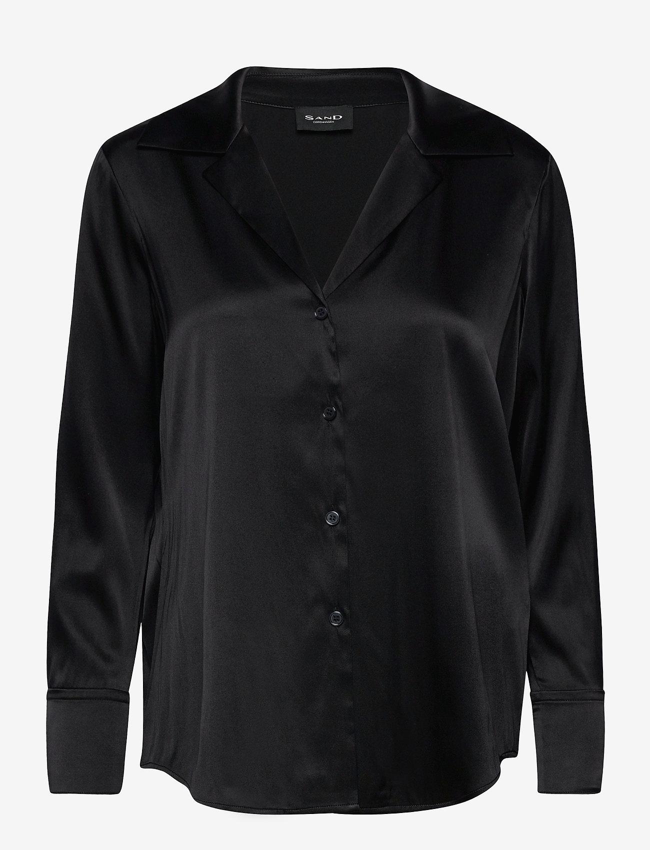 SAND - 3176 - Adal - blouses à manches longues - black - 0