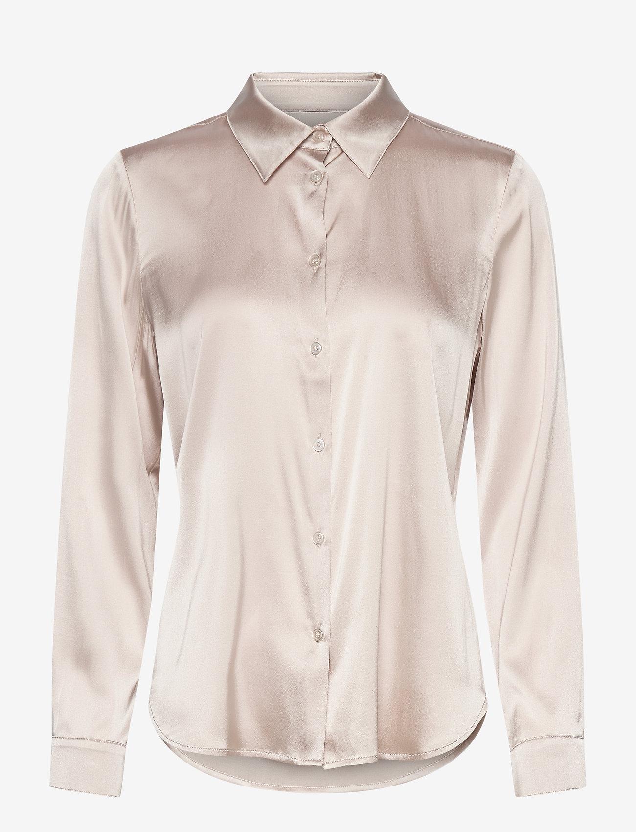 SAND - 3176 - Latia - chemises à manches longues - oyster - 0