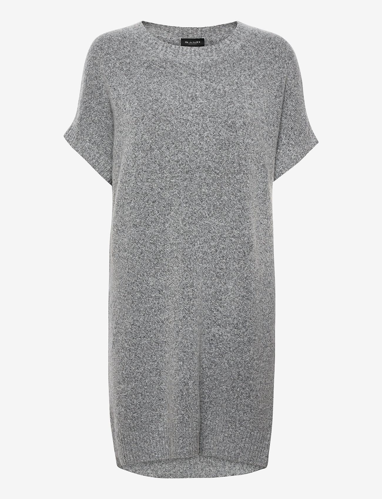 SAND - 5210 - Izadi Dress - robes de jour - grey - 0