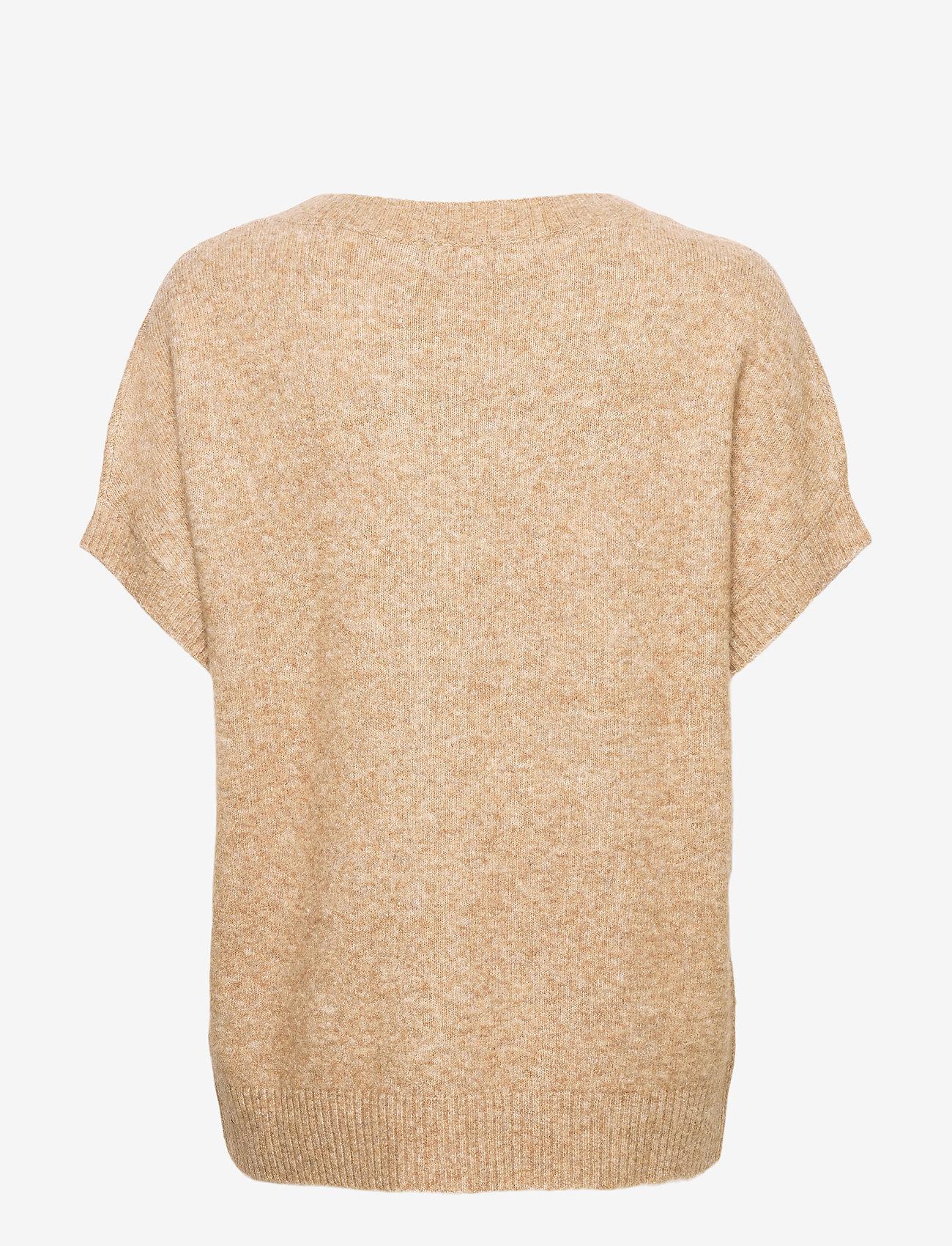SAND - 5210 - Izadi - hauts tricotés - camel - 1