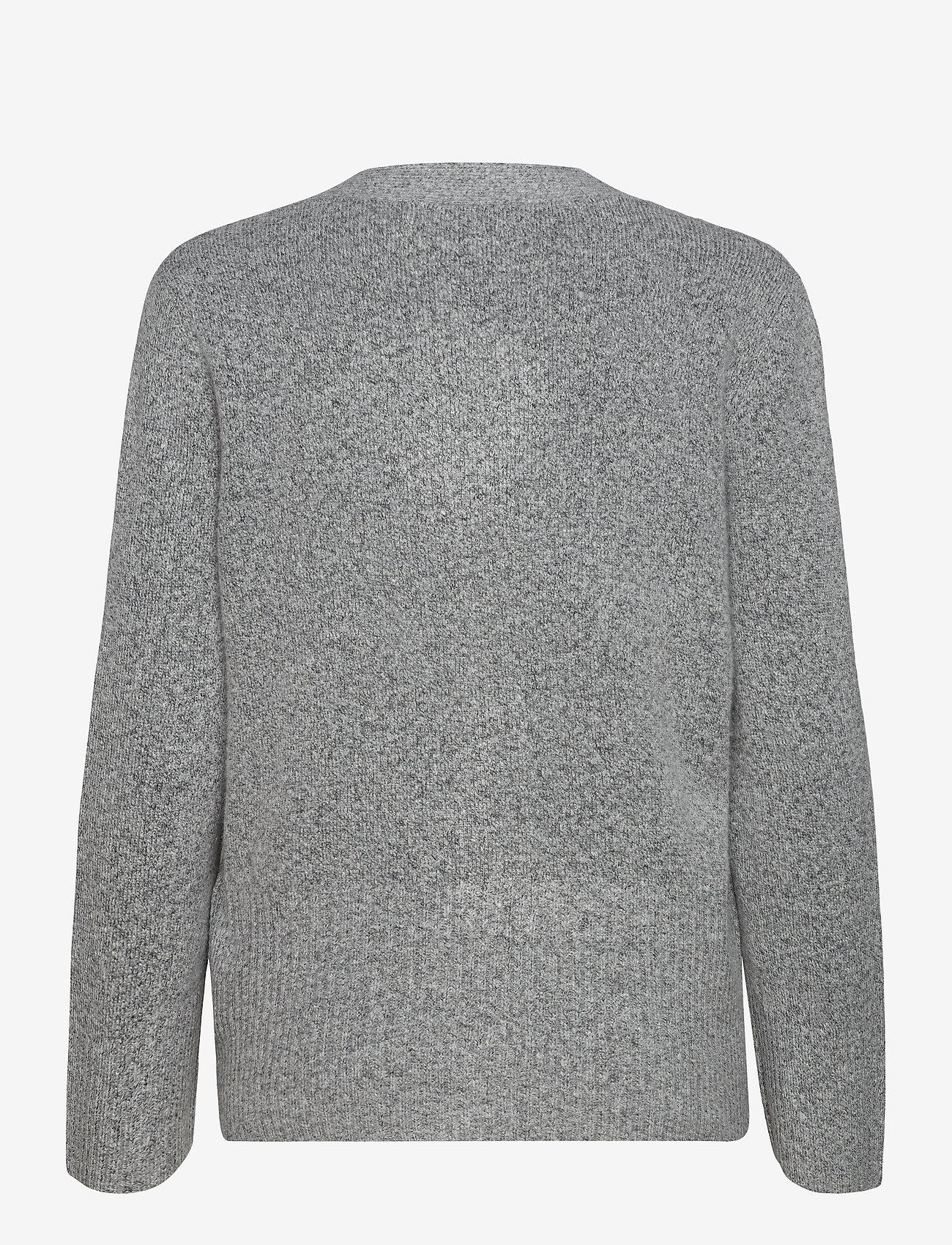 SAND - 5210 - Alp Cardigan - cardigans - grey - 1