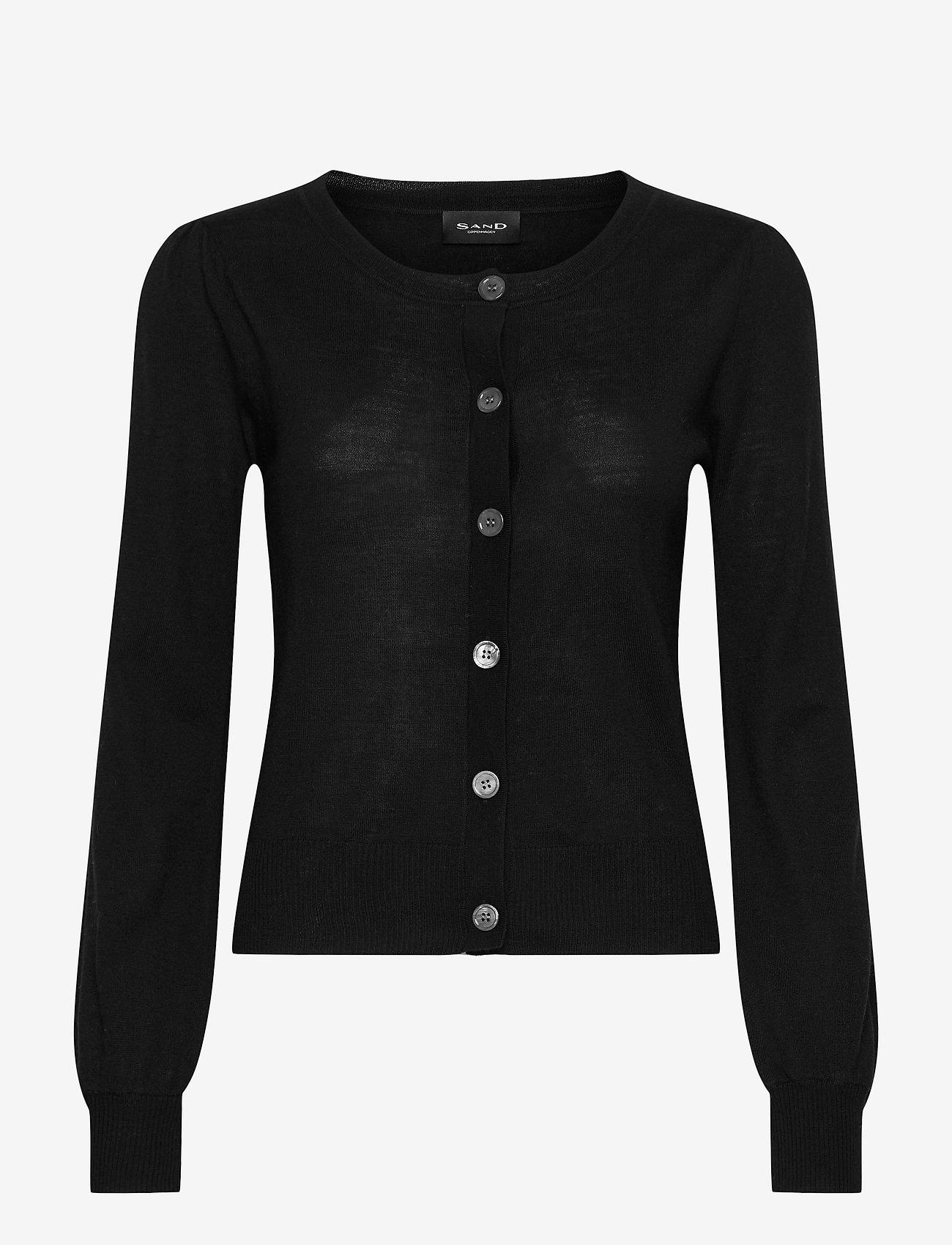 SAND - Fellini - Isamu - cardigans - black - 0