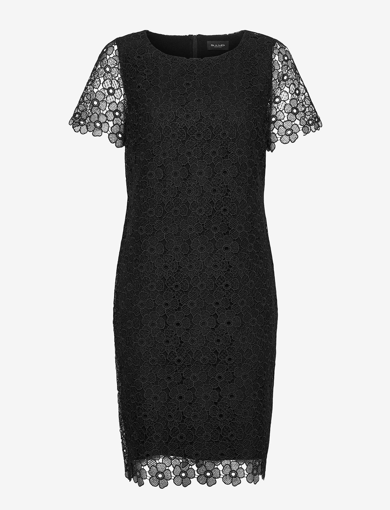 SAND - 3177 - Ellie - robes de cocktail - black - 0