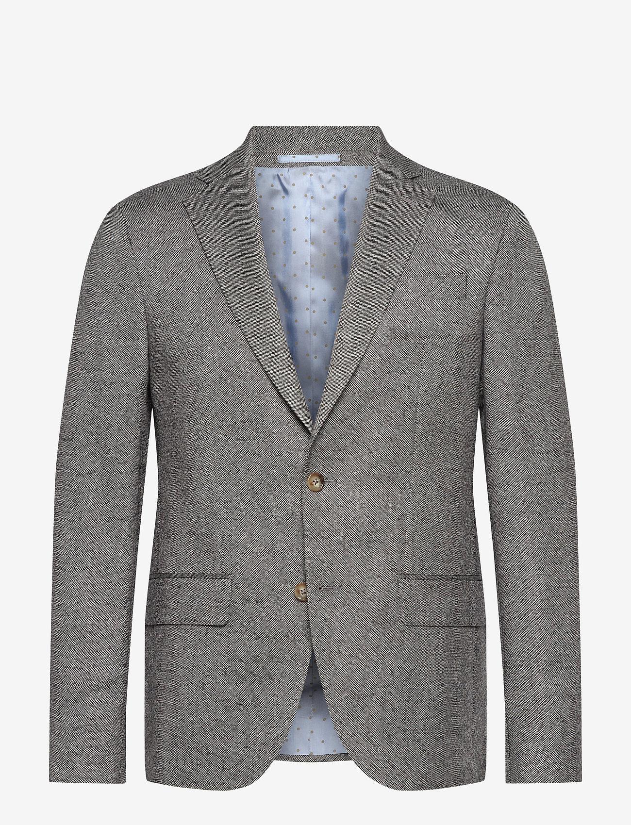 SAND - 6135 Oxford - Star Napoli Normal - blazers met enkele rij knopen - grey - 0