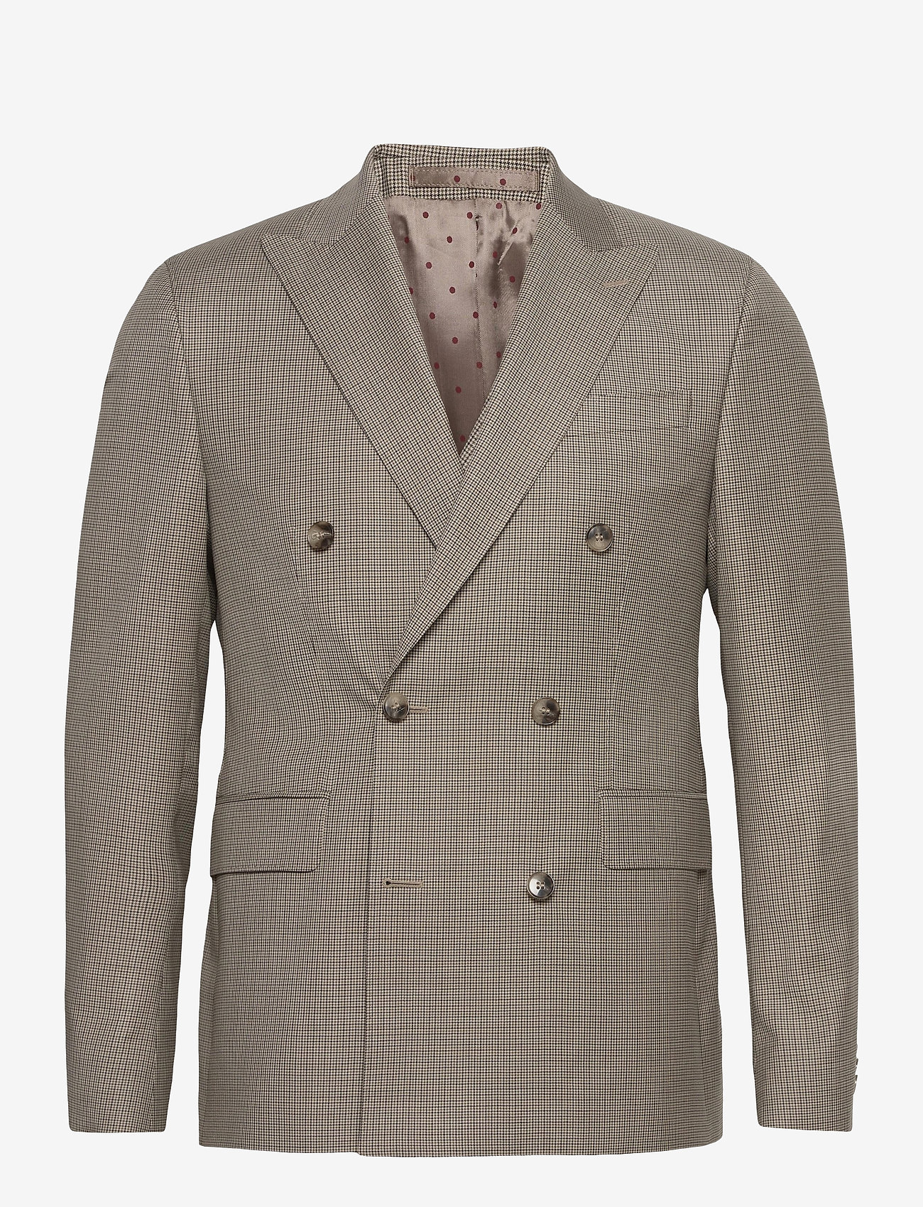 SAND - 1835 - Star DB Normal - blazers met enkele rij knopen - light camel - 0