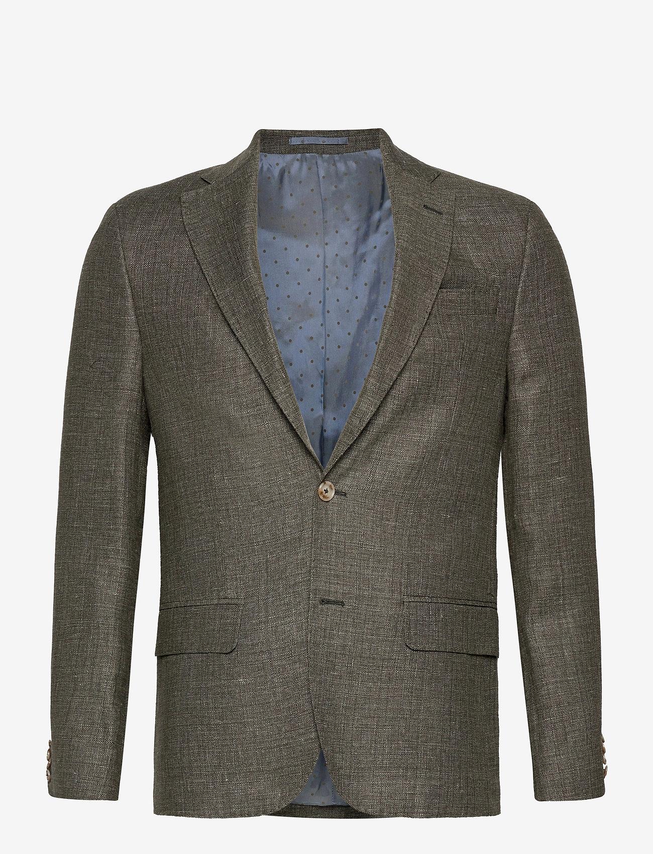 SAND - 6146 - Star Napoli Normal - single breasted blazers - khaki - 0