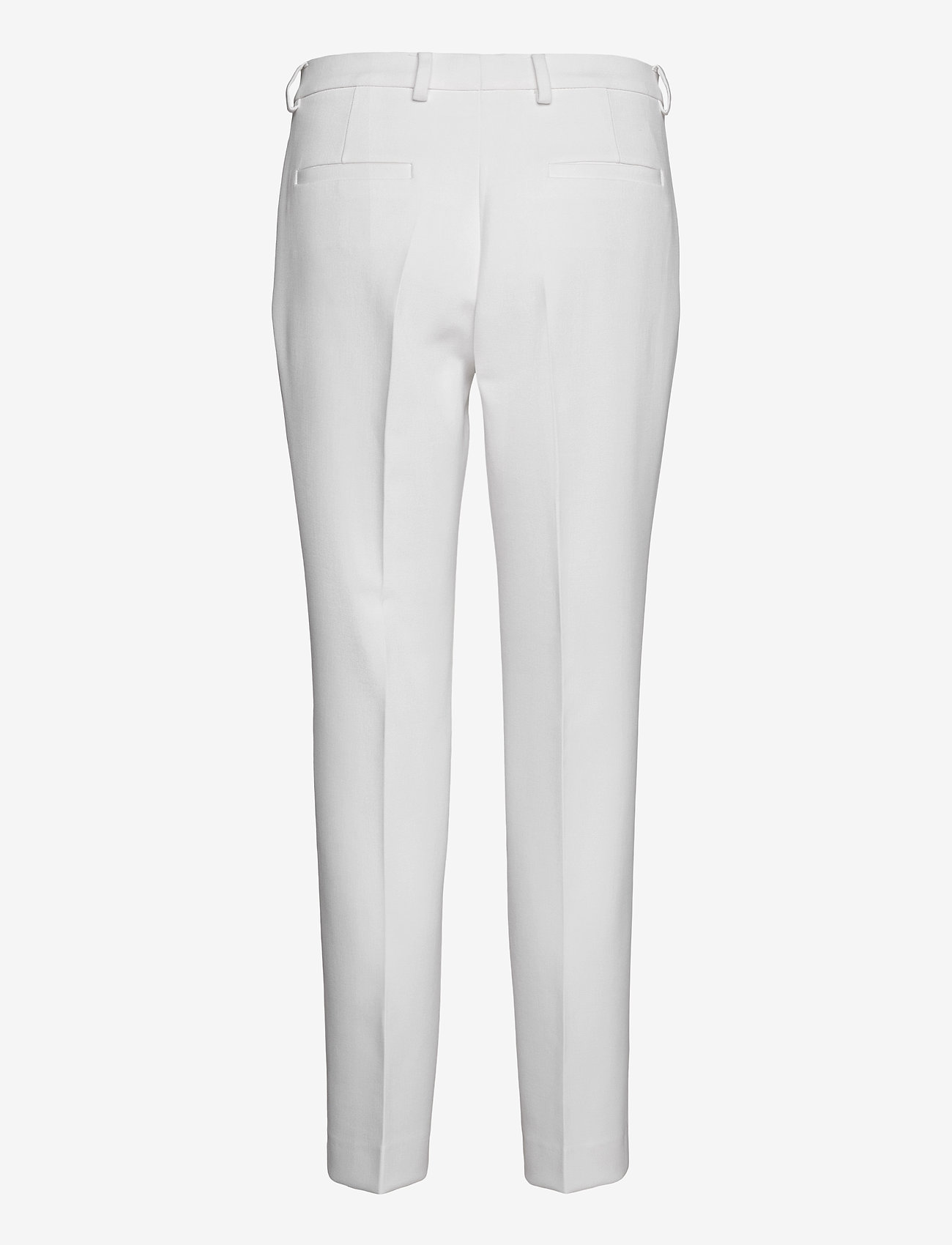 SAND - 3596 - Dori A - broeken med straight ben - optical white - 1