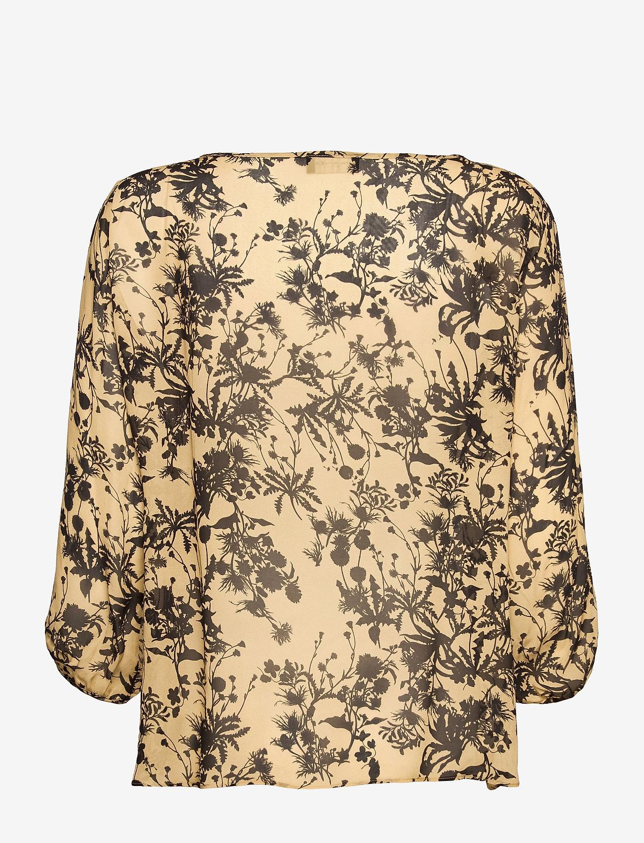 SAND - 3430 - Nova - blouses met lange mouwen - pale yellow - 1