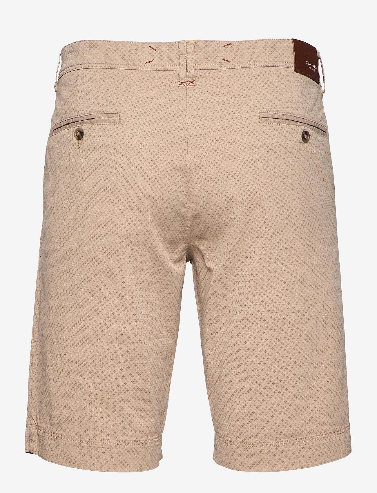 SAND - 2567 - Dolan Short - chino's shorts - light camel - 1