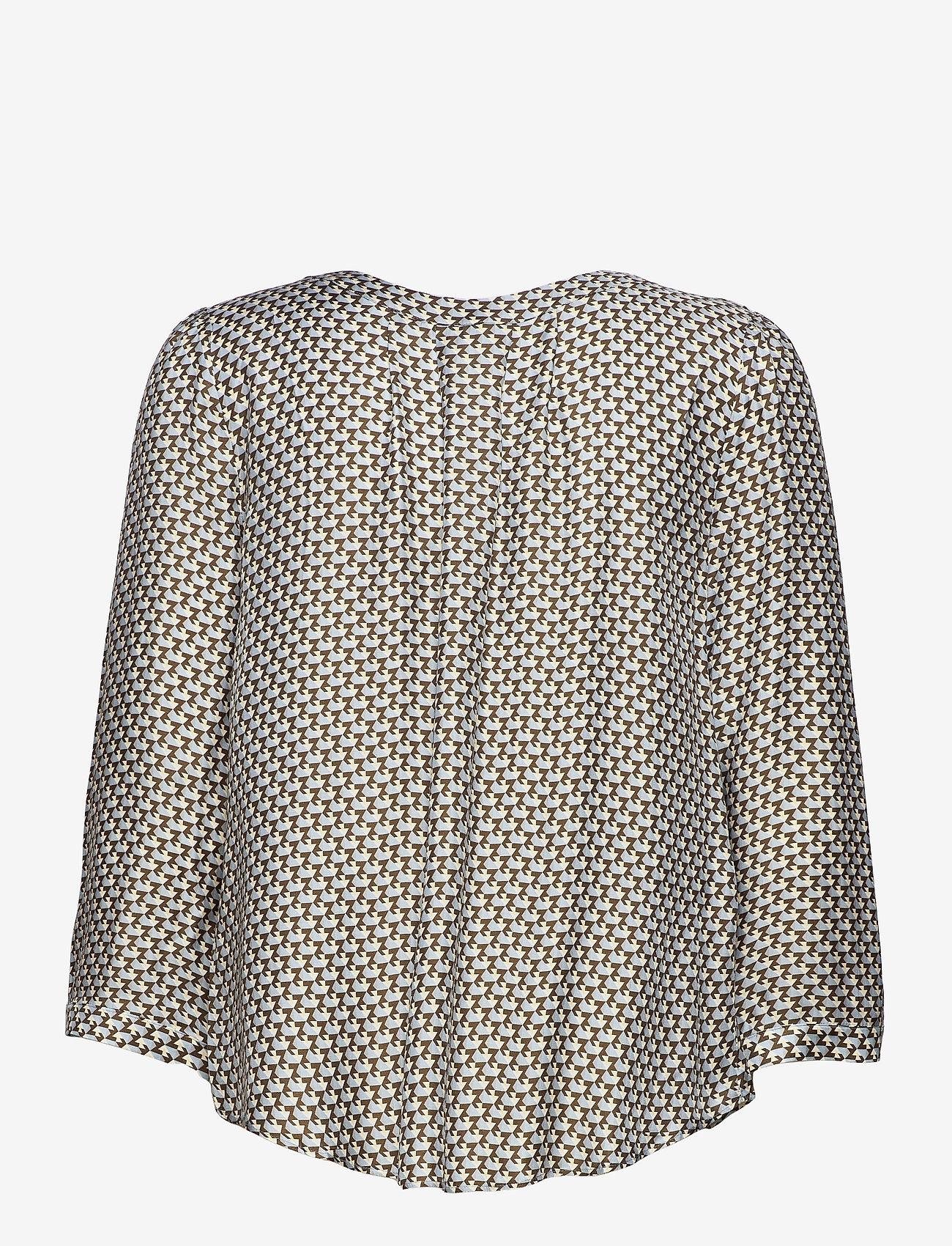 SAND - 3437 - Bala Puff - blouses met lange mouwen - blue - 1