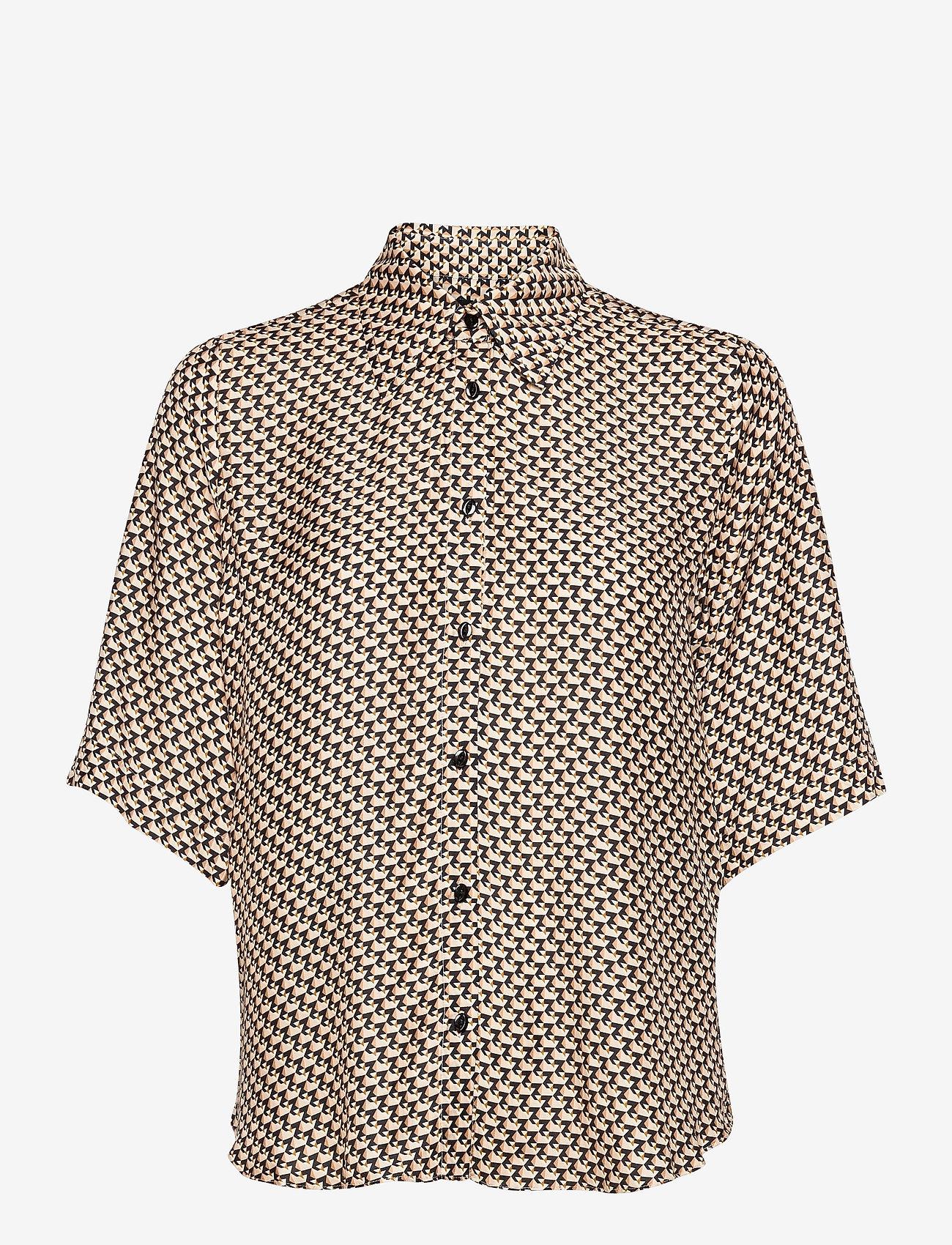 SAND - 3437 - Latia SS - overhemden met korte mouwen - soft pink - 0
