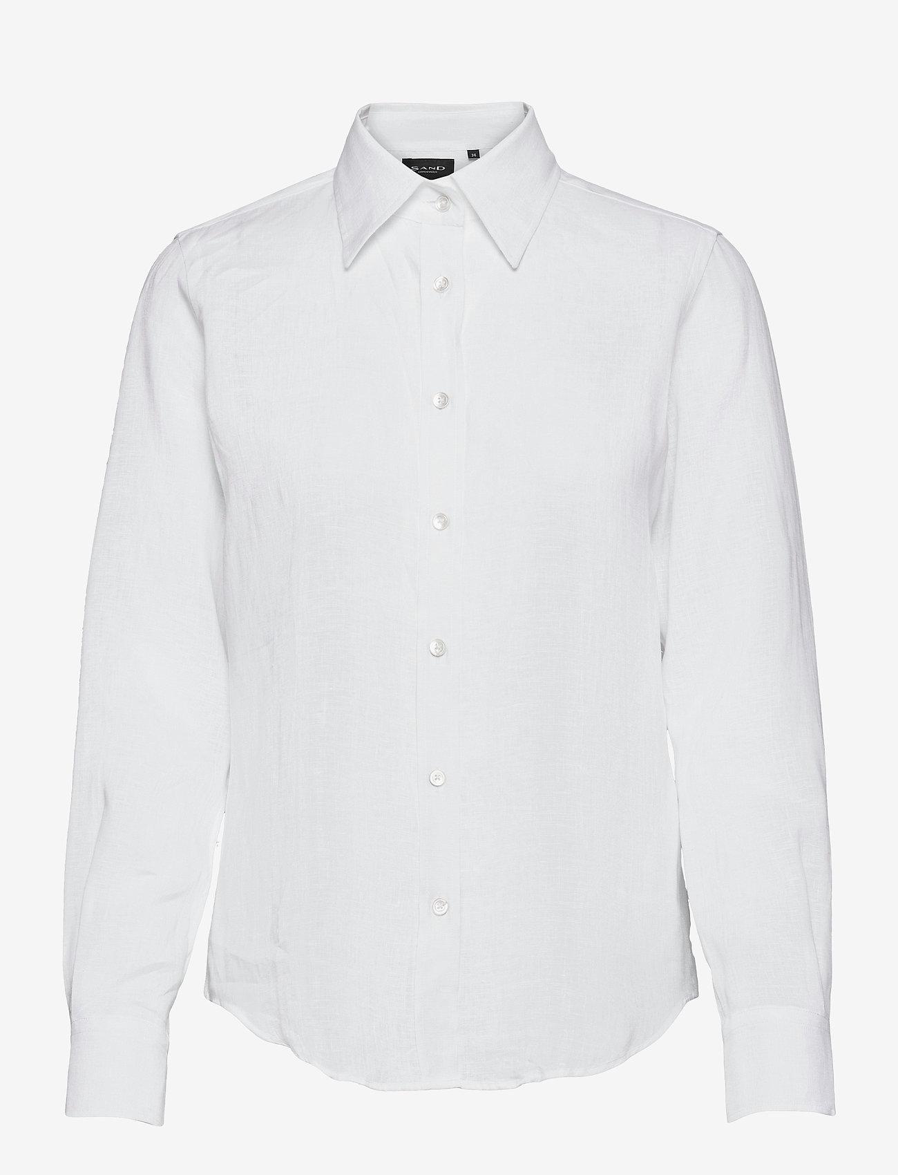SAND - 8727 W - Sandie New - overhemden met lange mouwen - optical white - 0